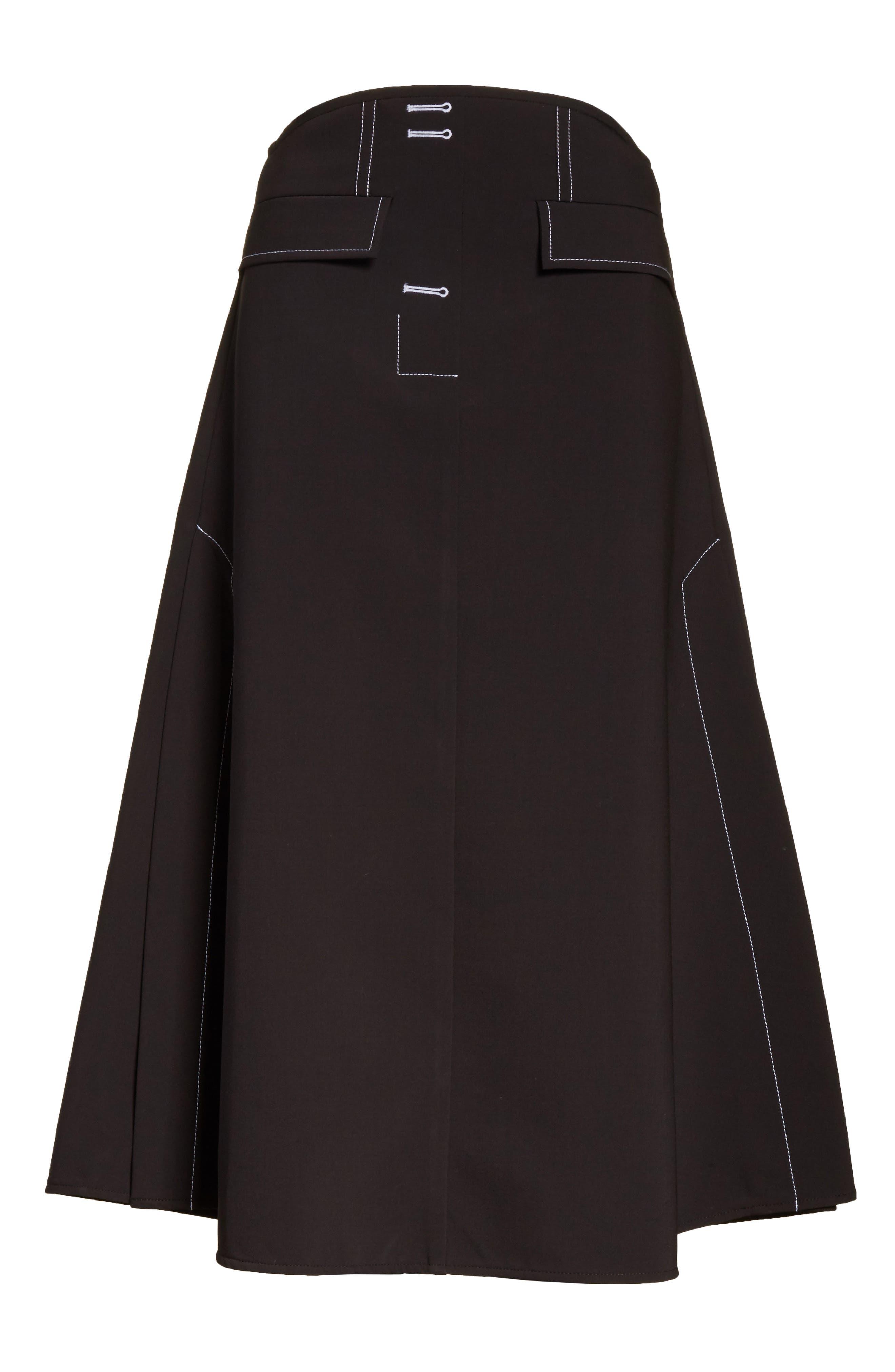 Alternate Image 6  - ELLERY Eunice A-Line Skirt