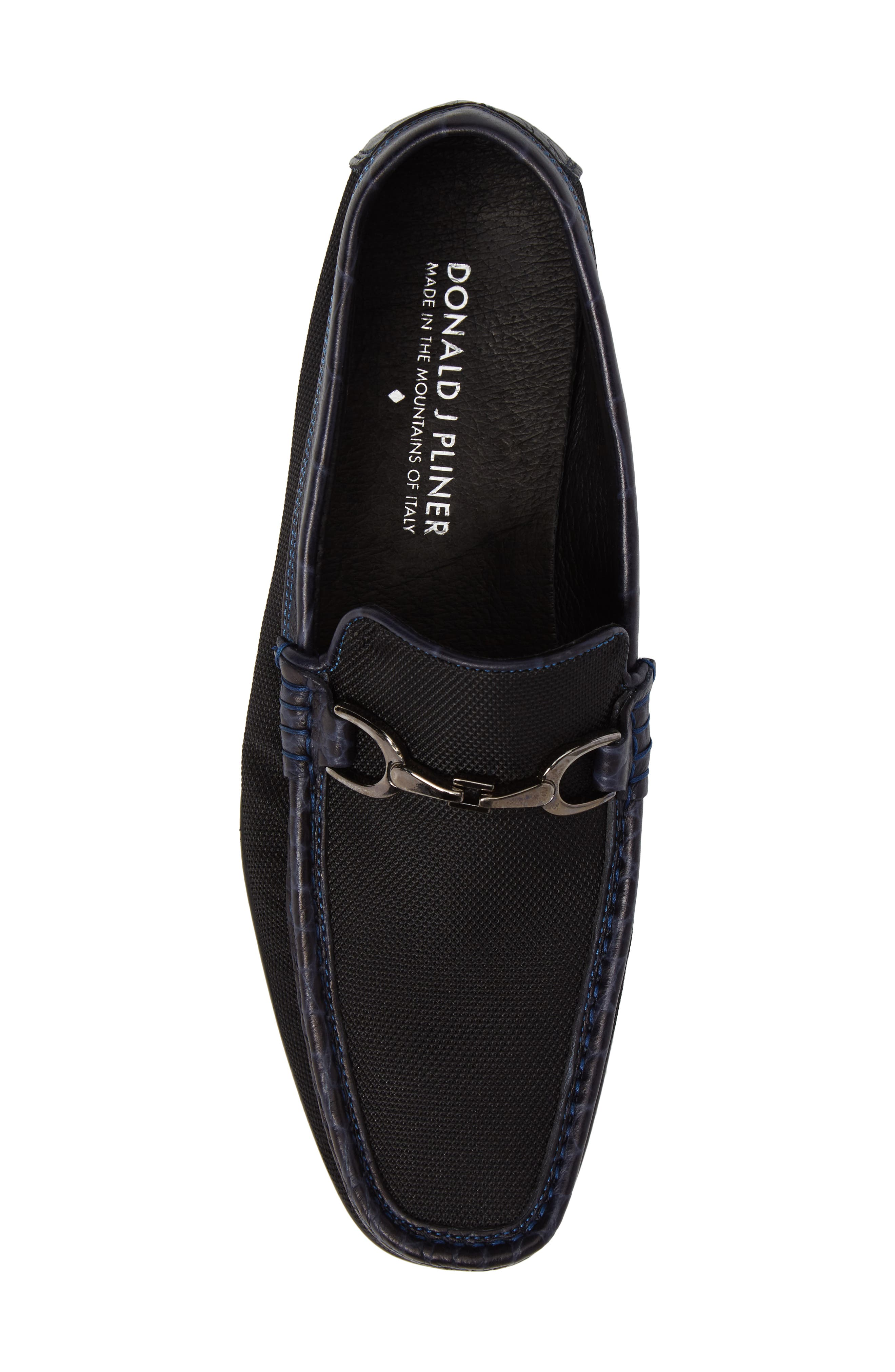 Alternate Image 4  - Donald J Pliner Darrin Embossed Loafer (Men)