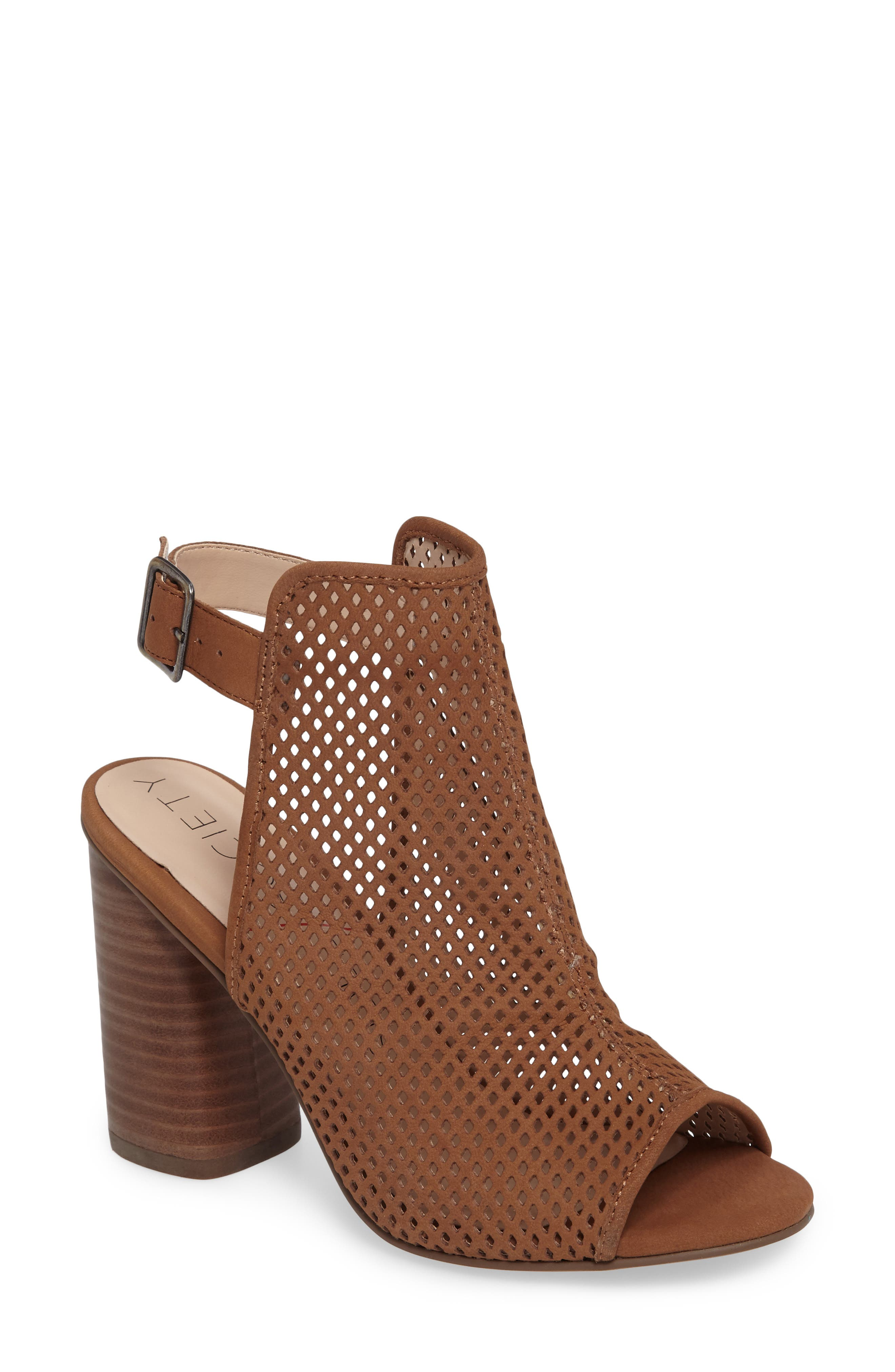 Alternate Image 1 Selected - Sole Society Bombay Perforated Sandal (Women)