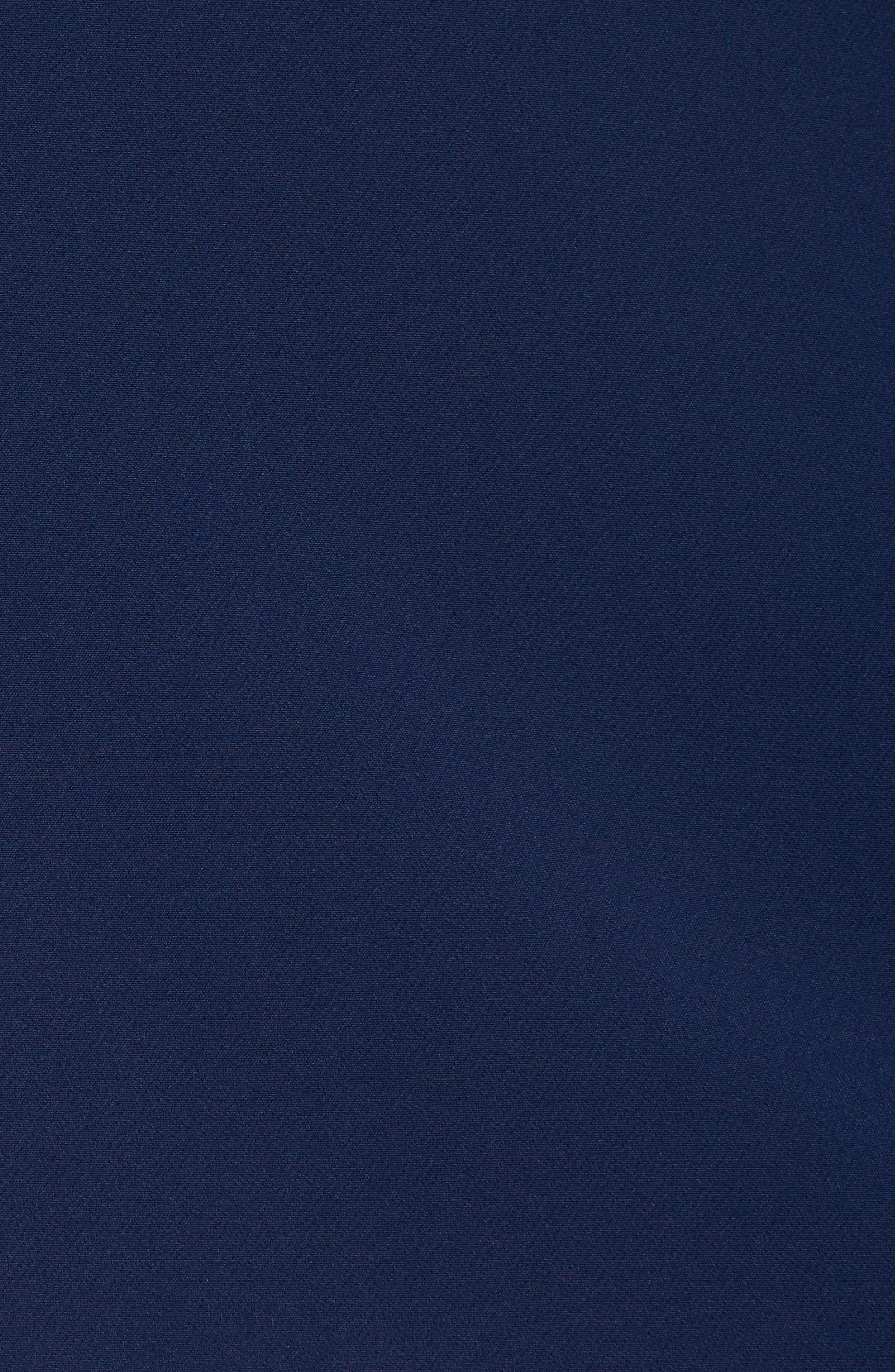 Alternate Image 6  - Sejour Crop Open Front Blazer (Plus Size)