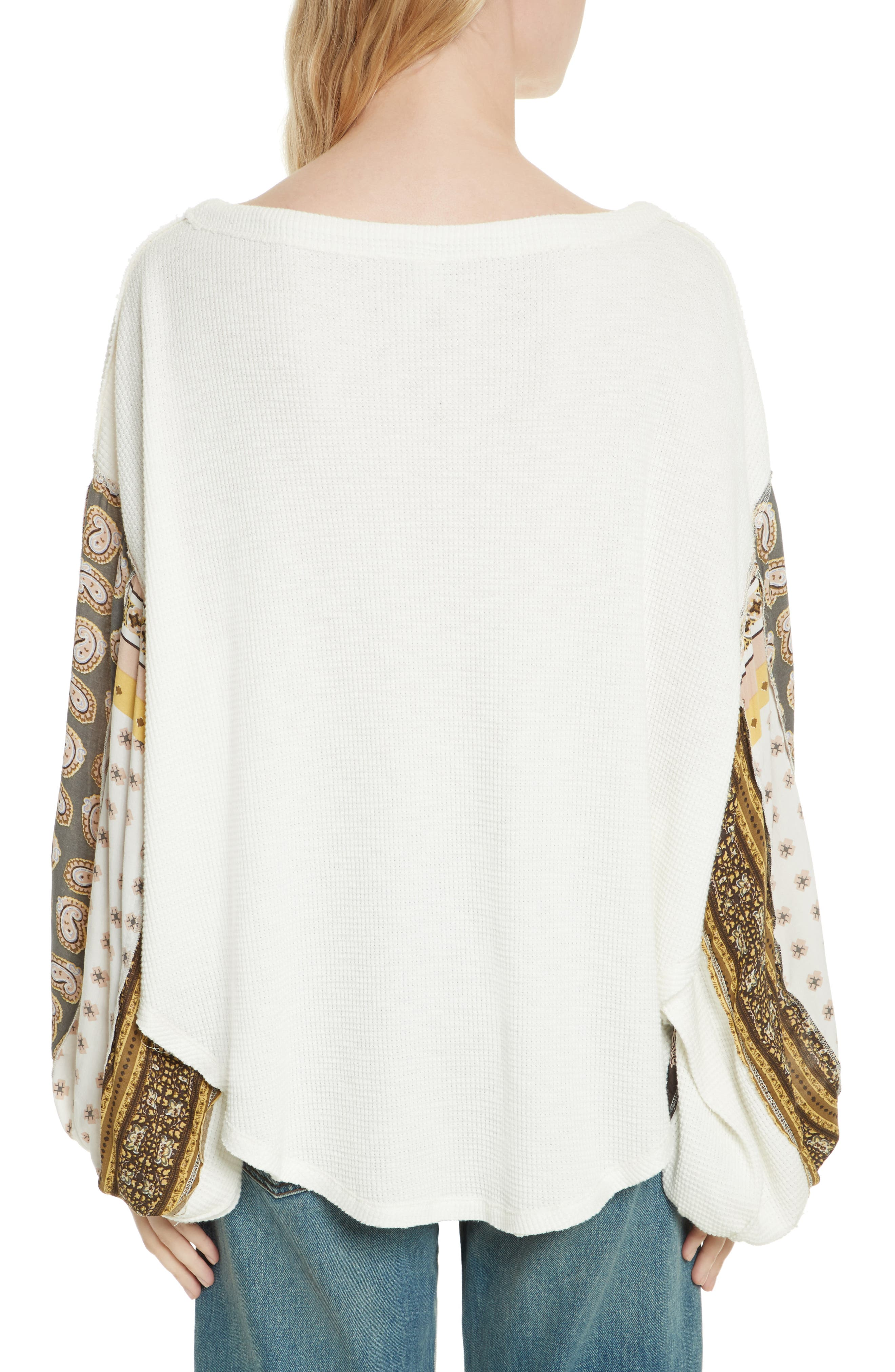 Alternate Image 2  - Free People We the Free Blossom Thermal Top