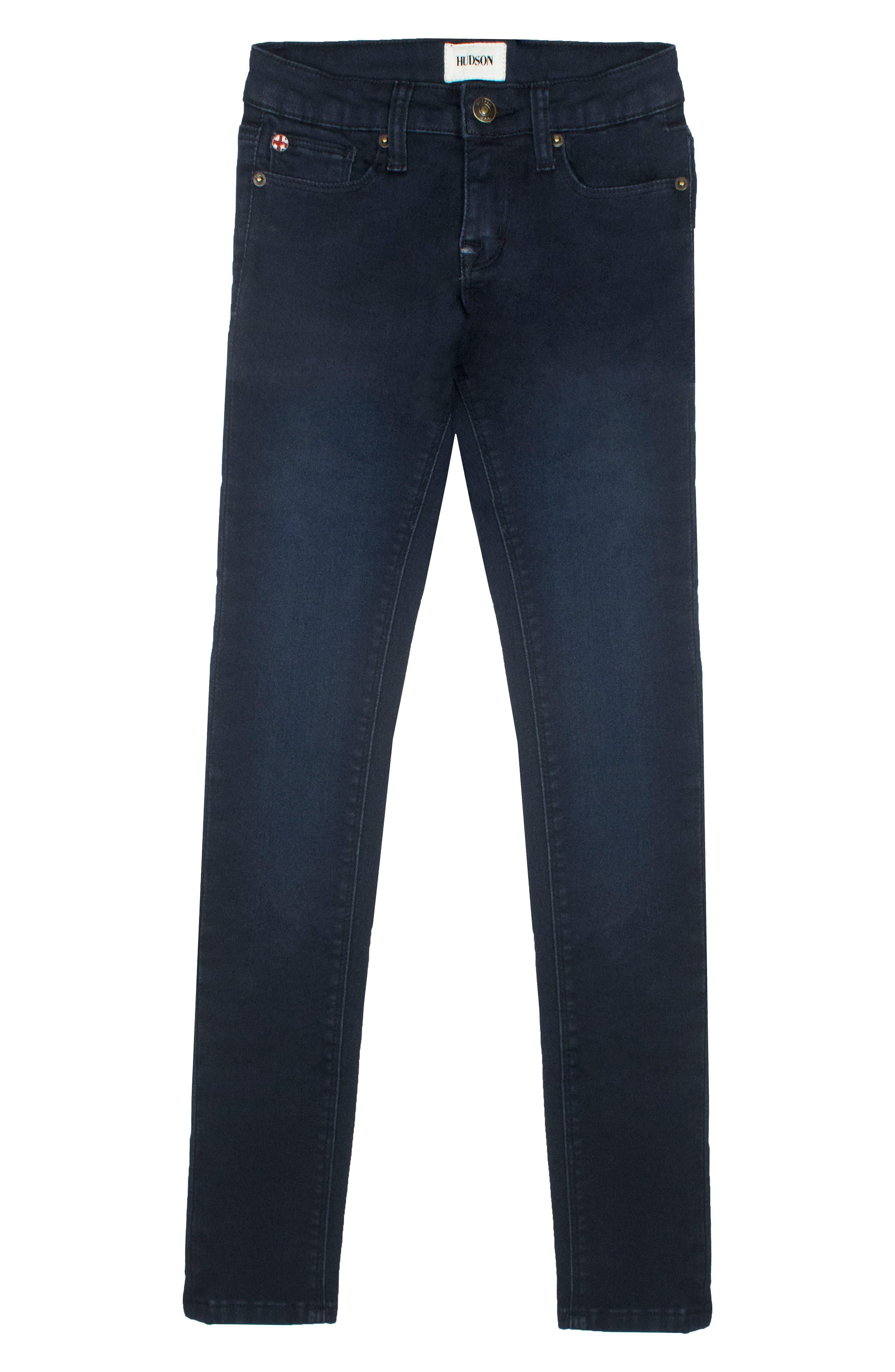 Hudson Kids Collin Flap Pocket Skinny Jeans (Toddler Girls & Little Girls)