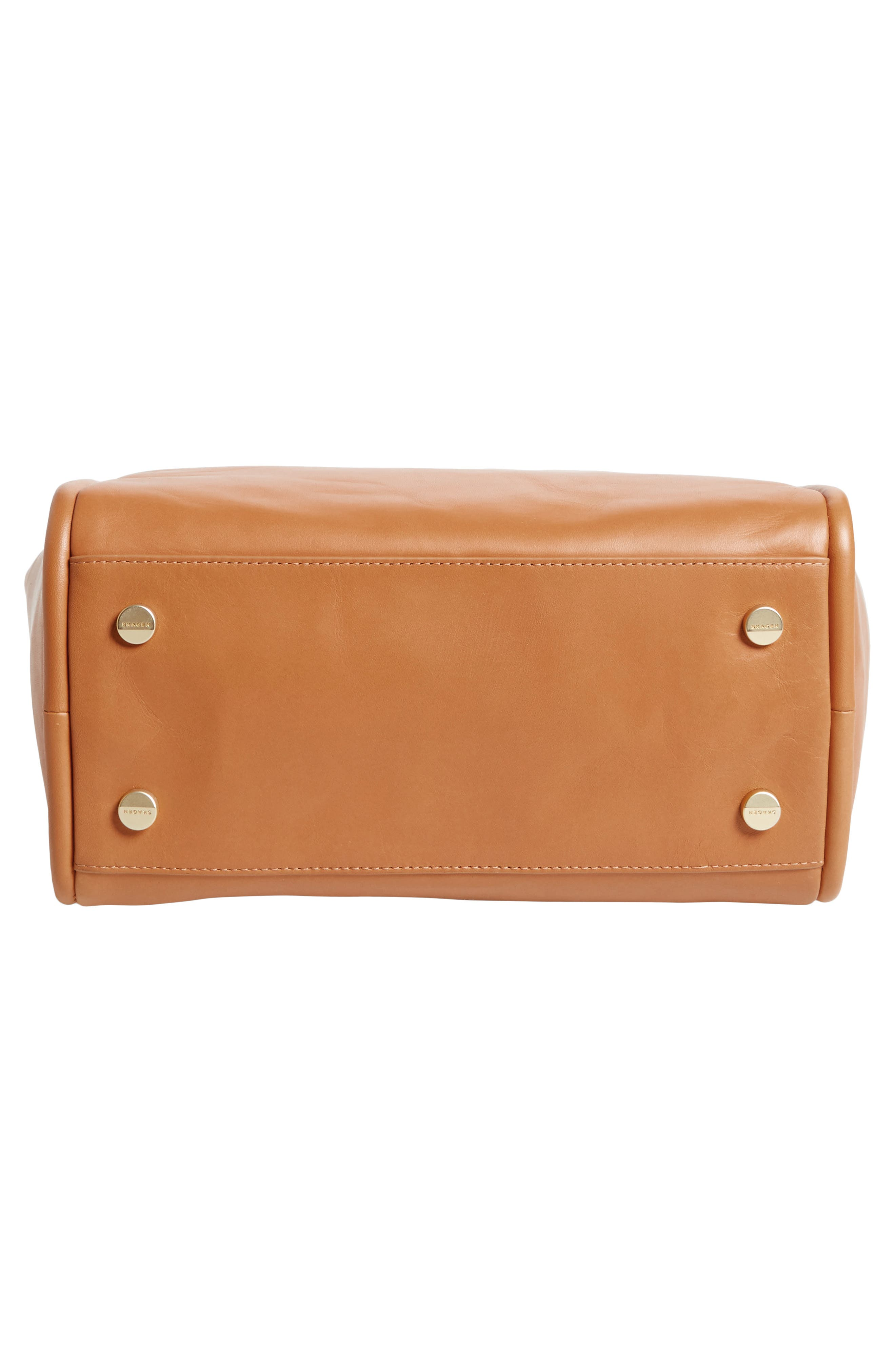 Alternate Image 6  - Skagen Karalie Leather Shoulder Bag