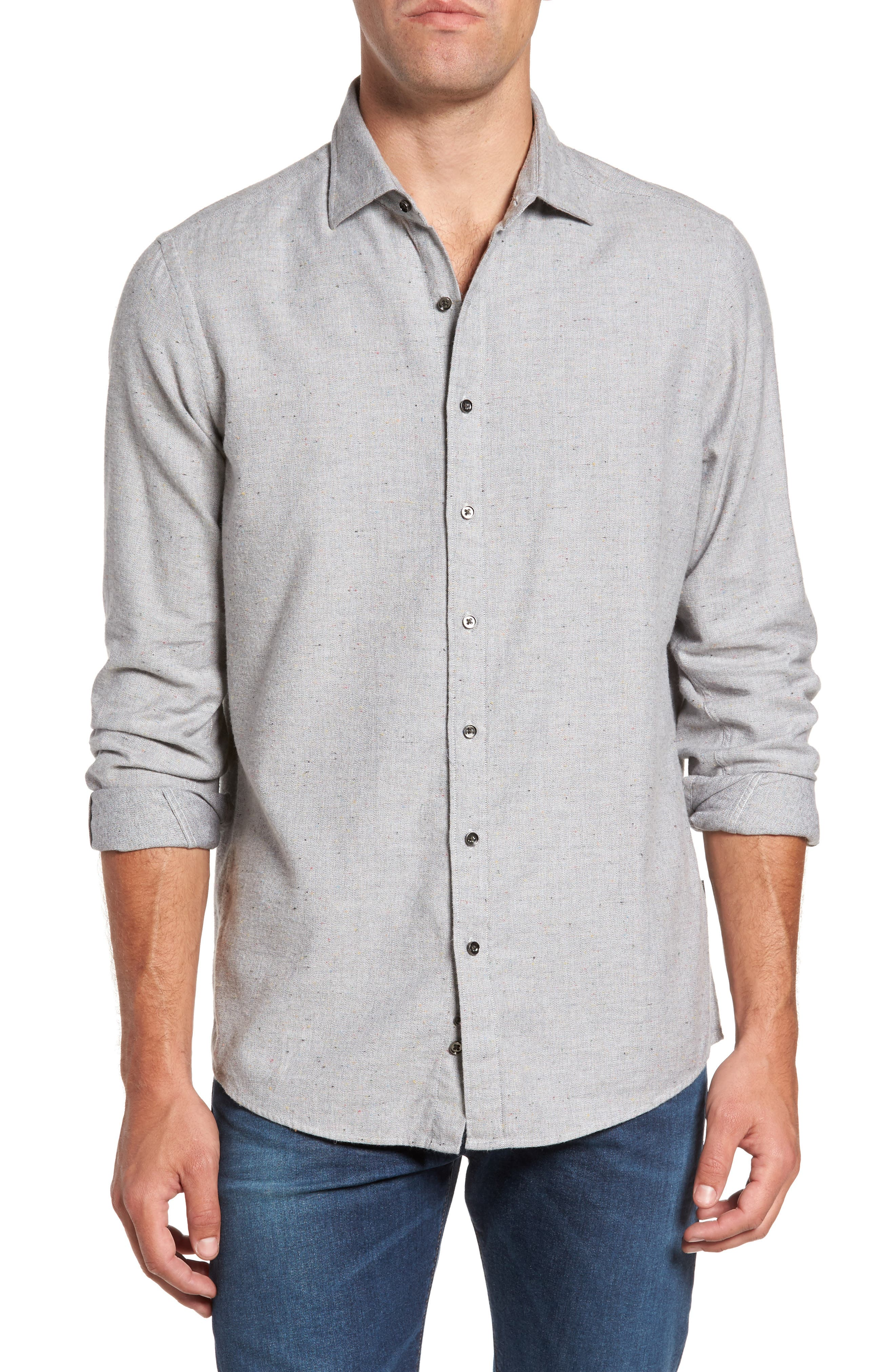Main Image - Rodd & Gunn Cardwell Nep Flecked Sport Shirt