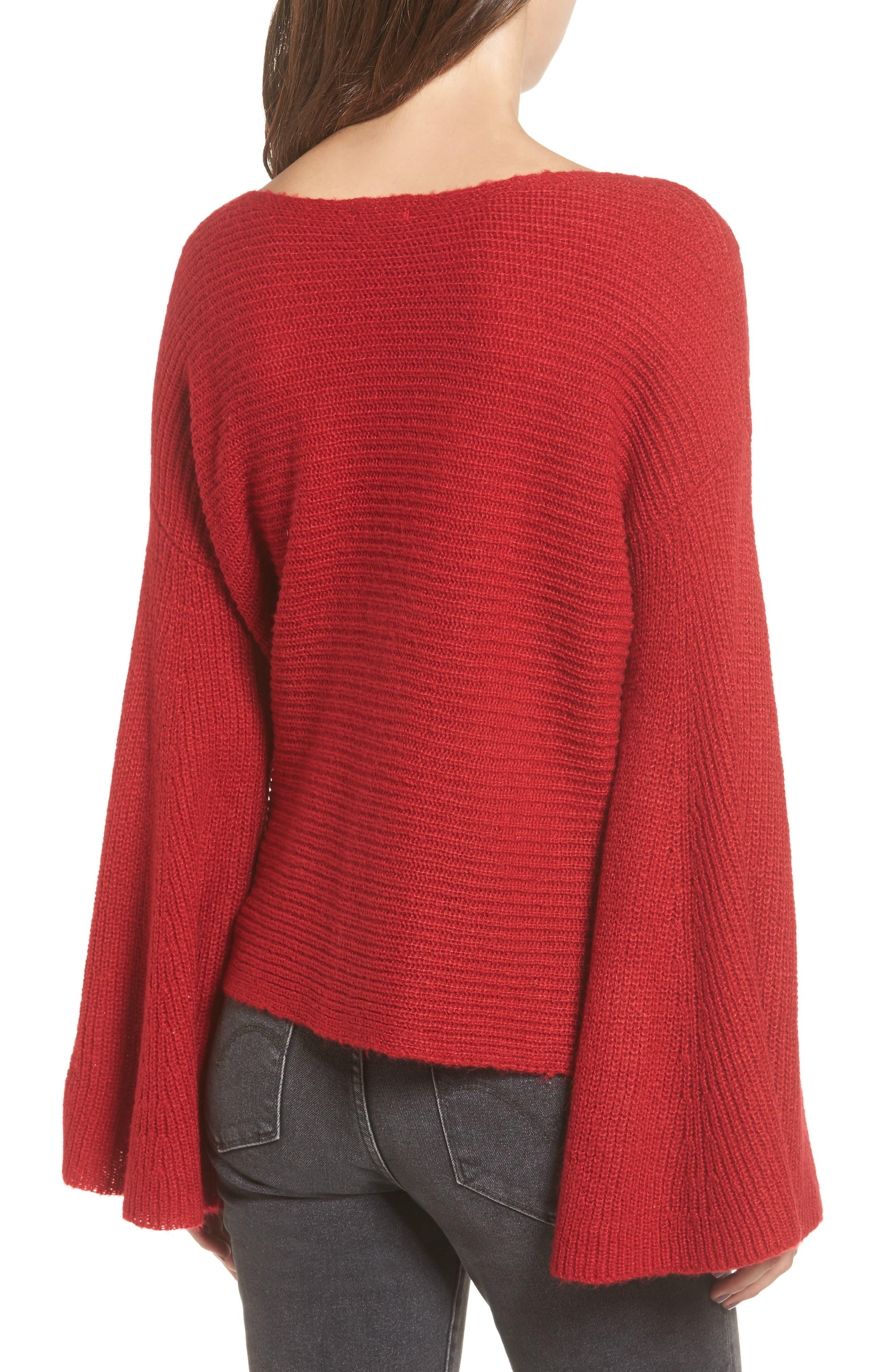 Alternate Image 2  - BP. Flare Sleeve Sweater