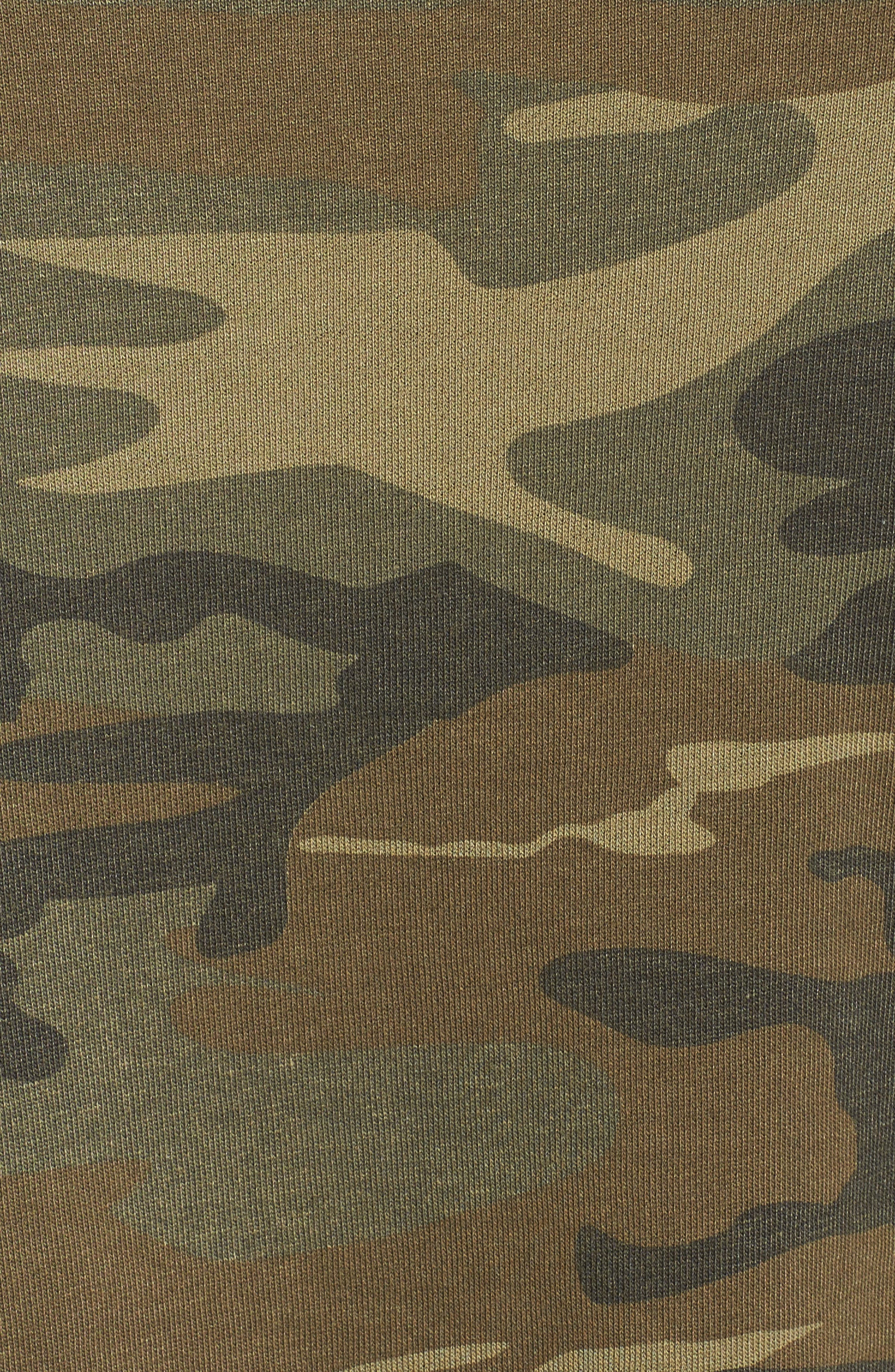 Day Off Hoodie,                             Alternate thumbnail 5, color,                             Camo