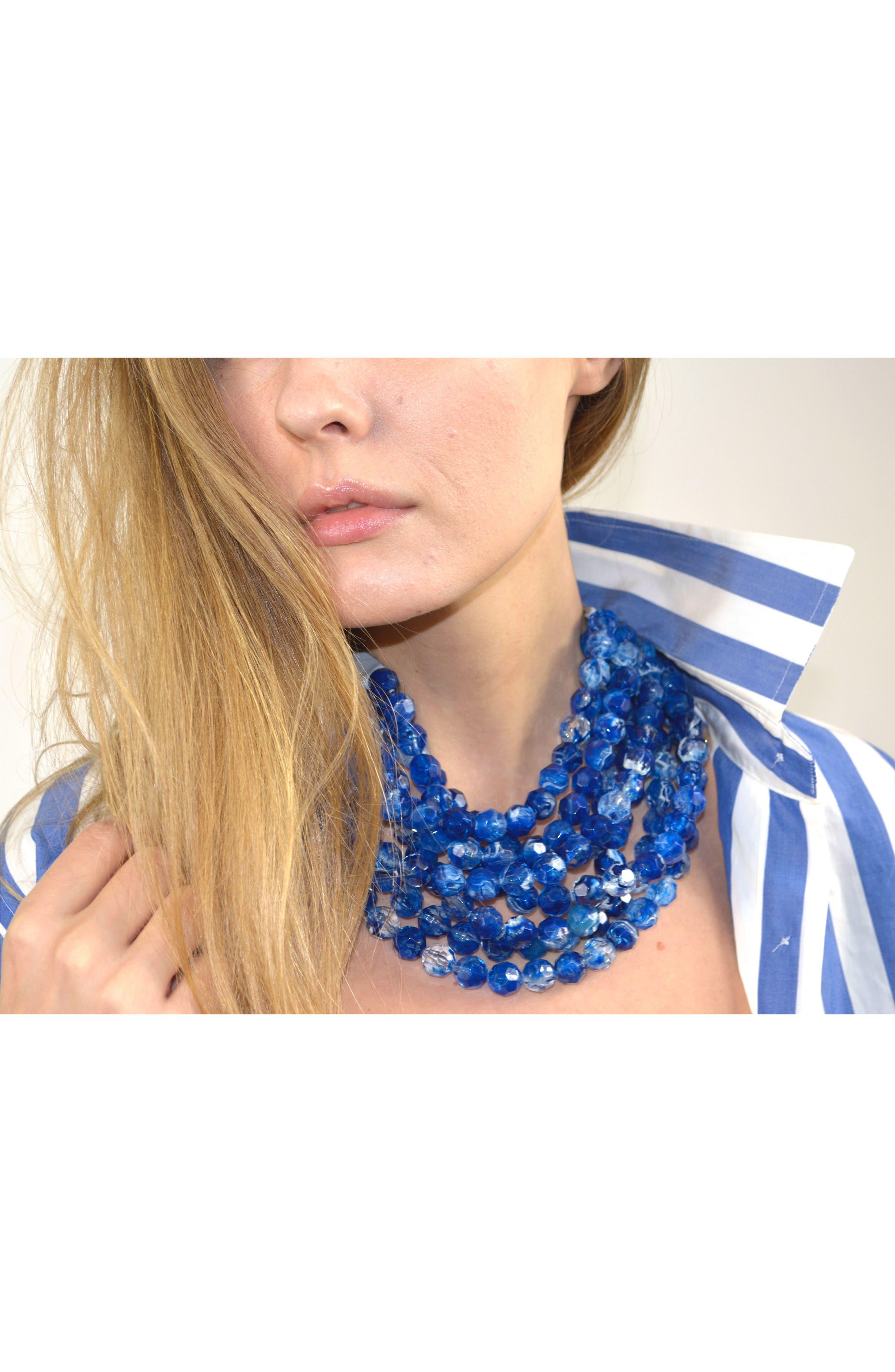 Alternate Image 3  - Fairchild Baldwin Bella Beaded Collar Necklace