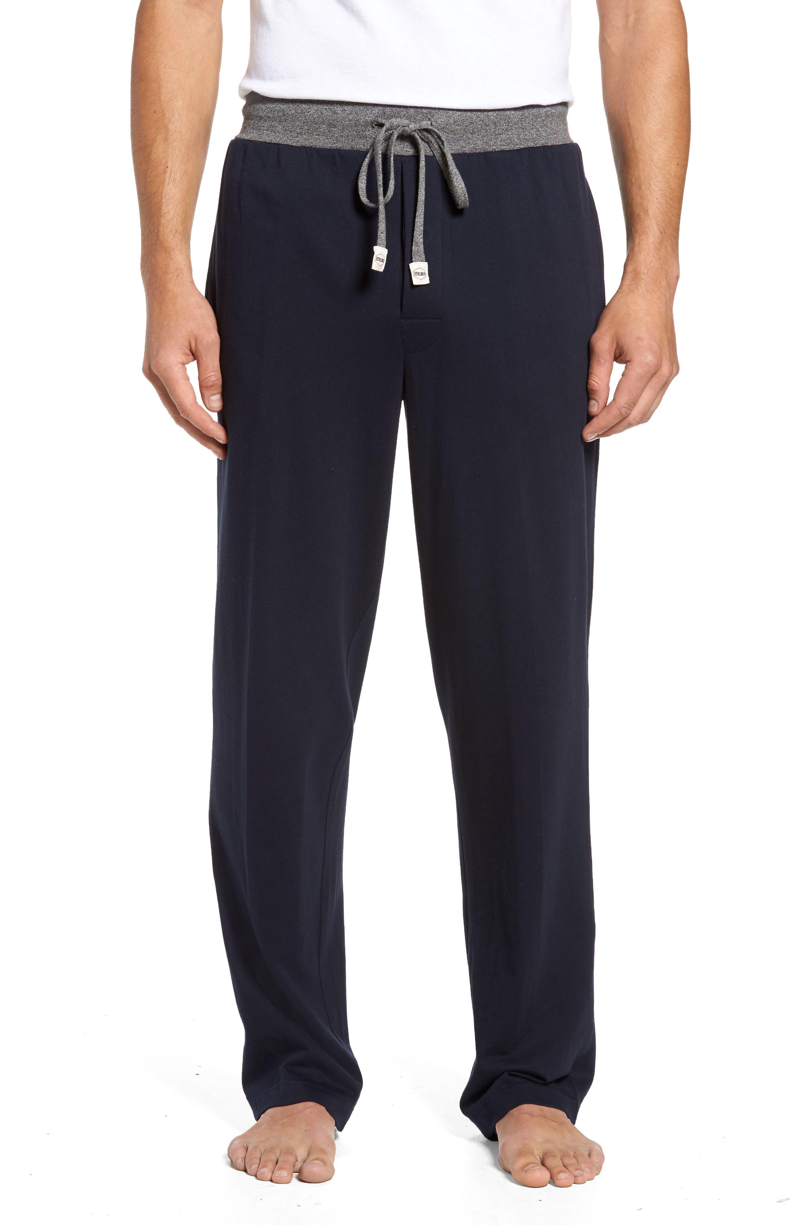 Trey Knit Lounge Pants,                         Main,                         color, Navy