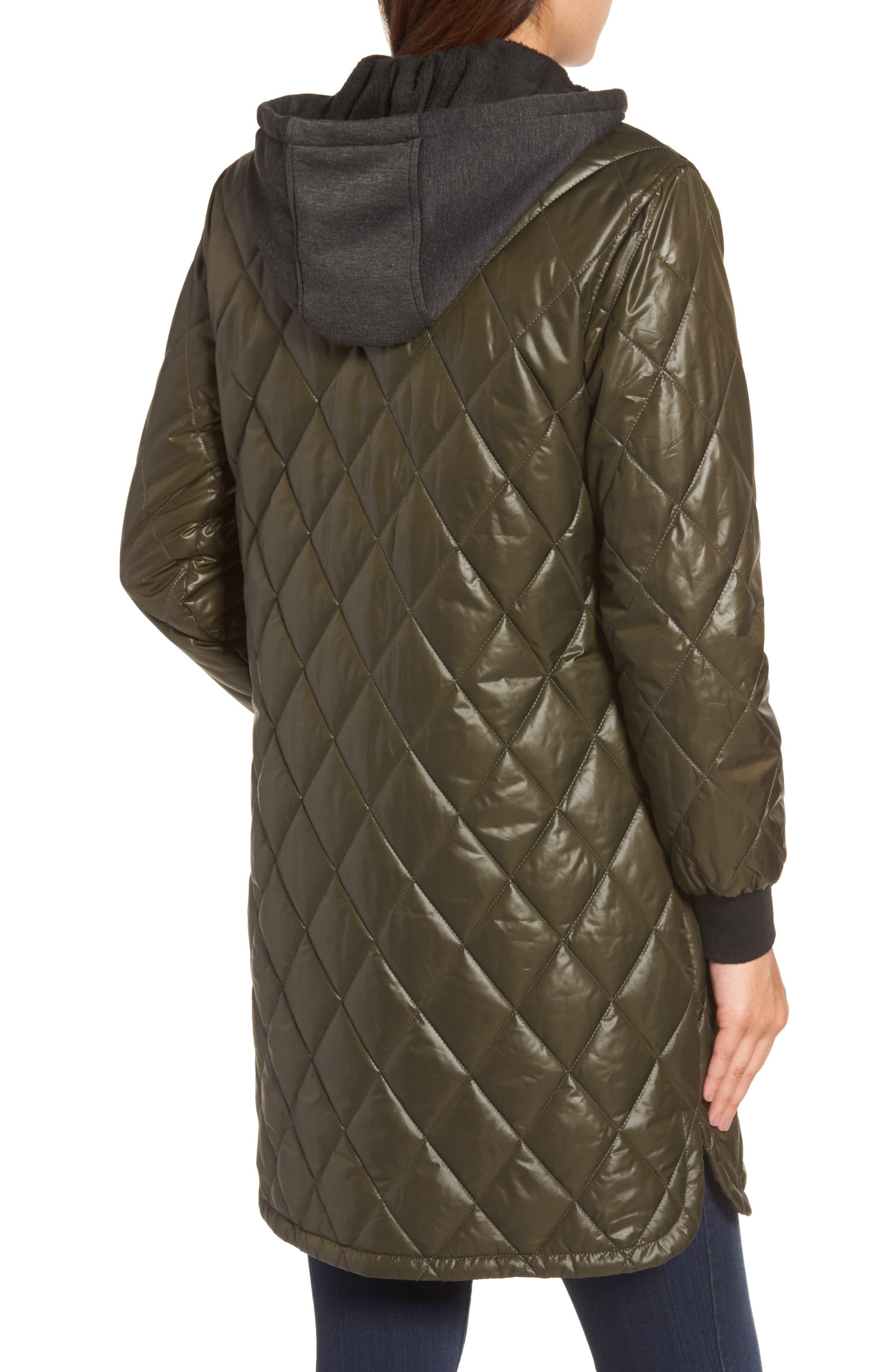 Alternate Image 2  - MICHAEL Michael Kors Quilted Jacket