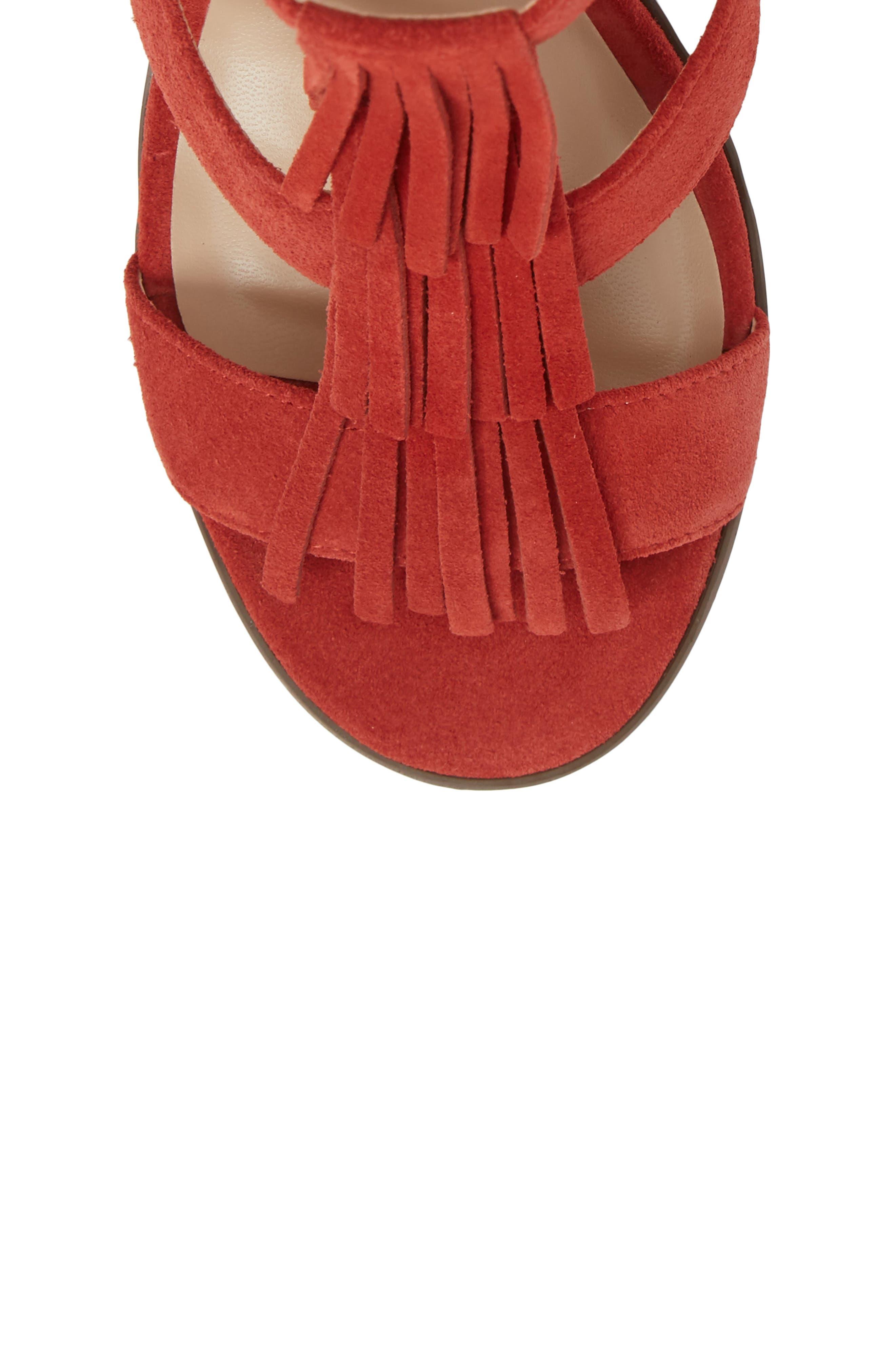 Alternate Image 5  - Sole Society 'Delilah' Fringe Sandal (Women)