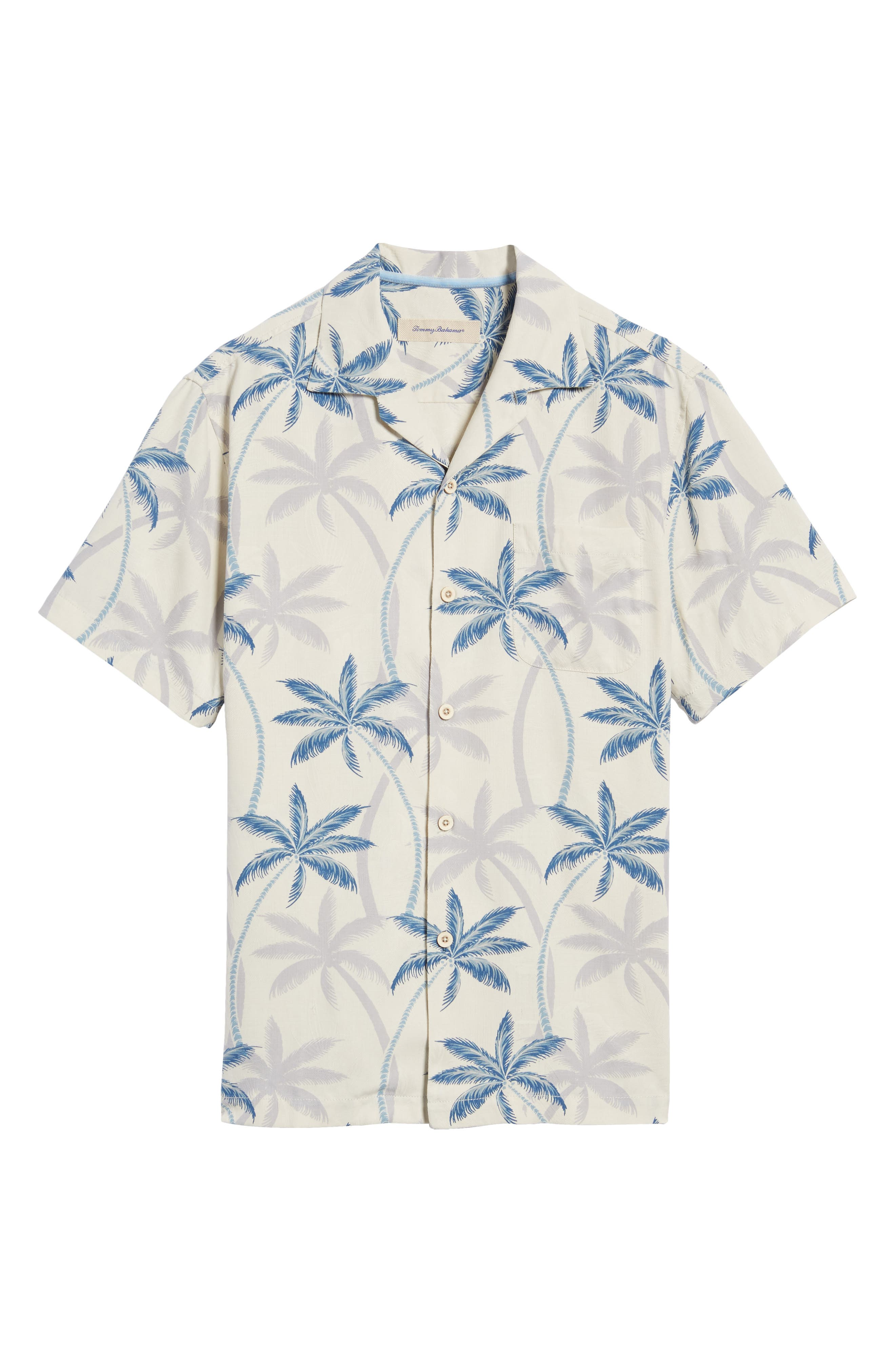 Palmas Palooza Woven Shirt,                             Alternate thumbnail 6, color,                             Continental