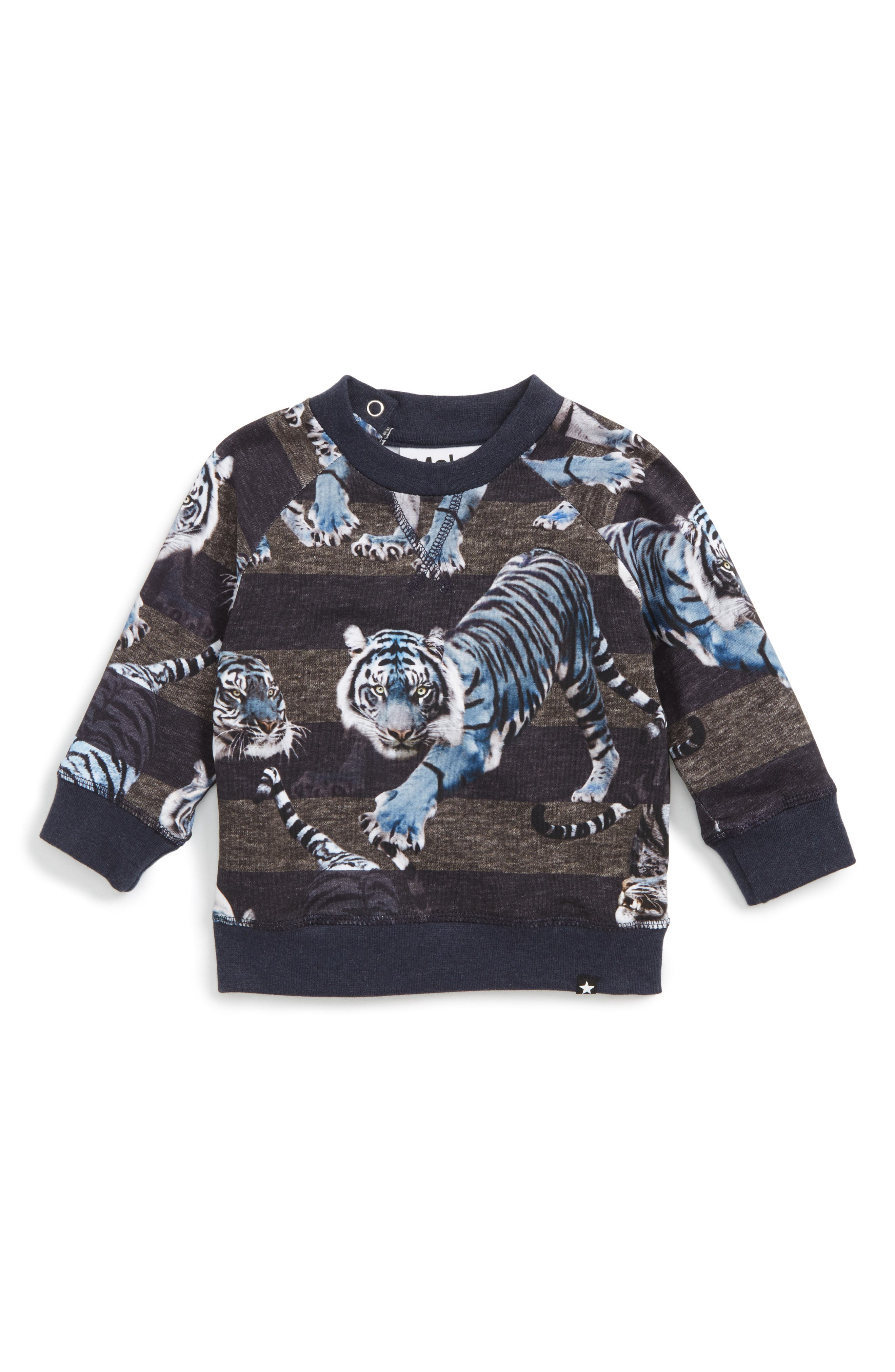 Tiger Graphic T-Shirt,                         Main,                         color, Blue Tigers