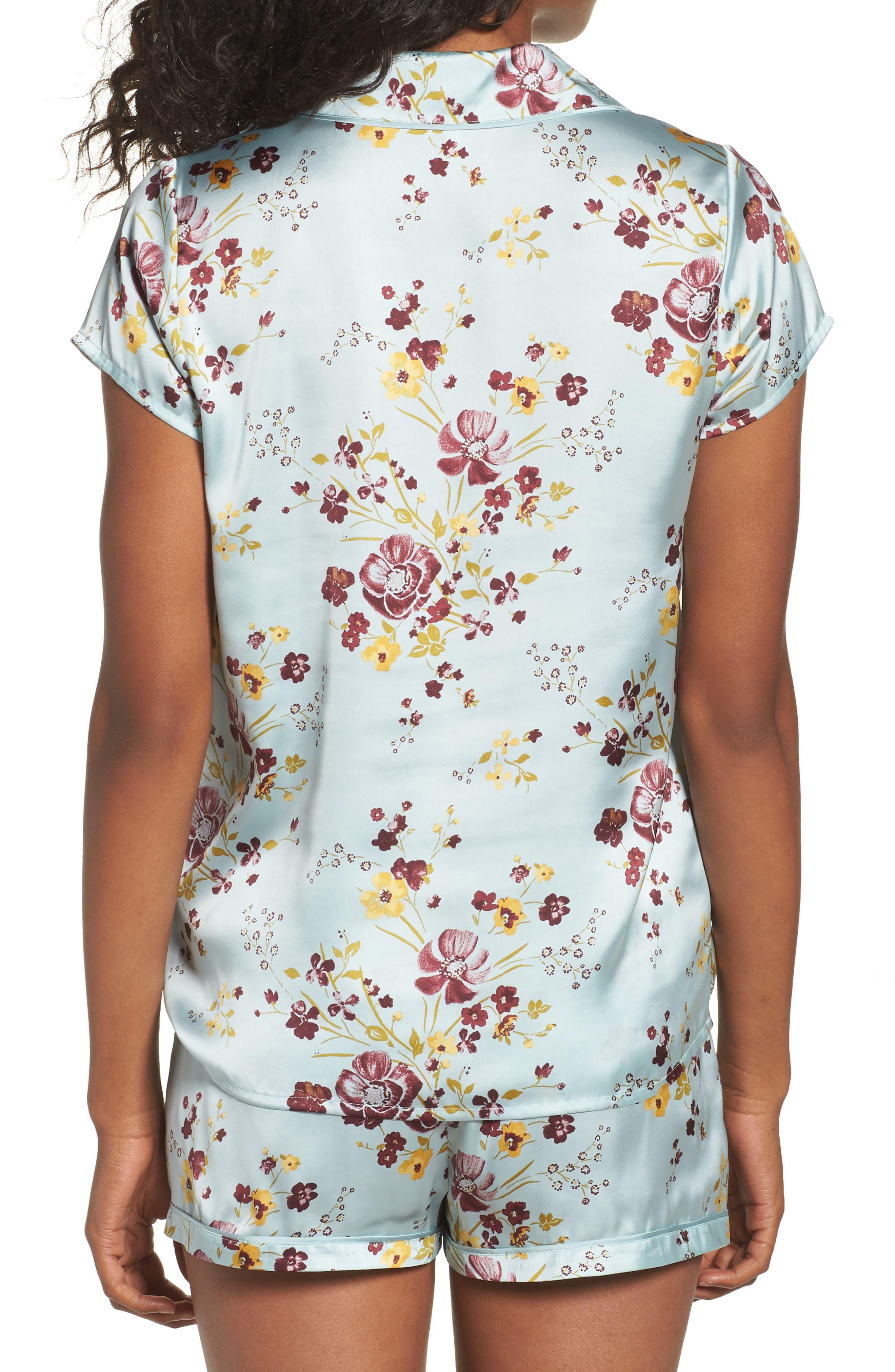 Alternate Image 2  - Chelsea28 Satin Pajamas