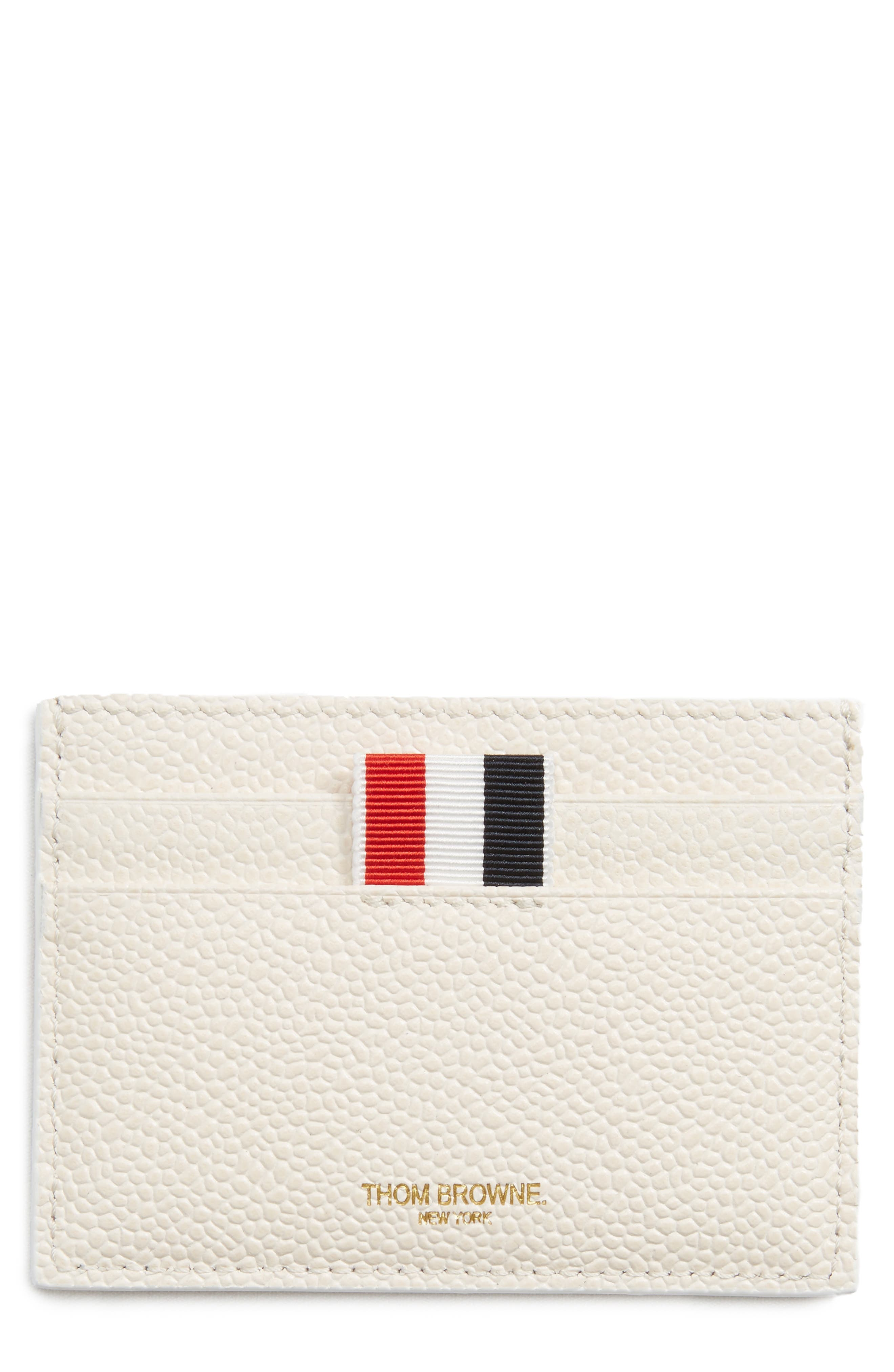 Thom Browne Leather Card Case