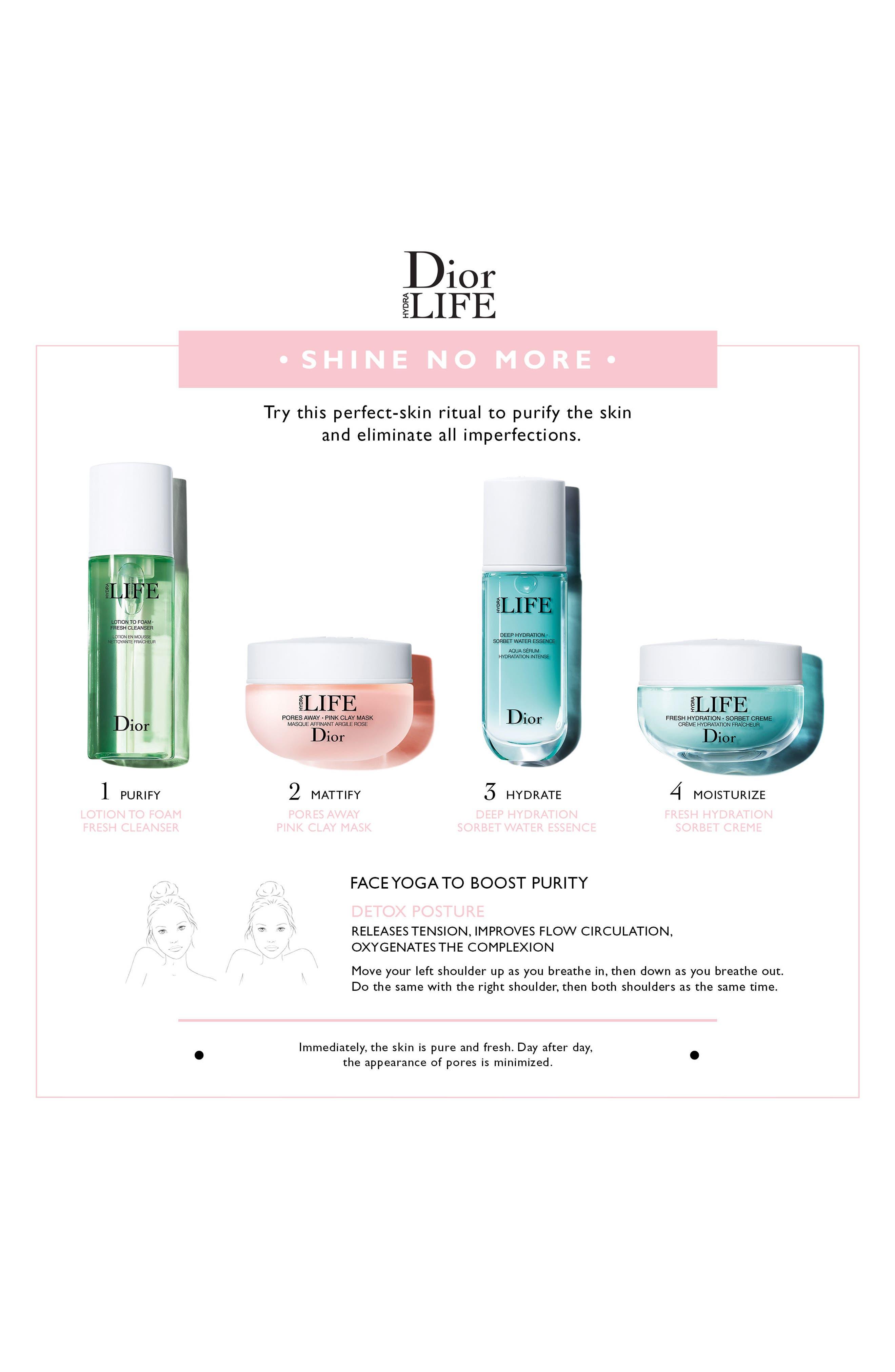 Alternate Image 6  - Dior Hydra Life Fresh Sorbet Crème