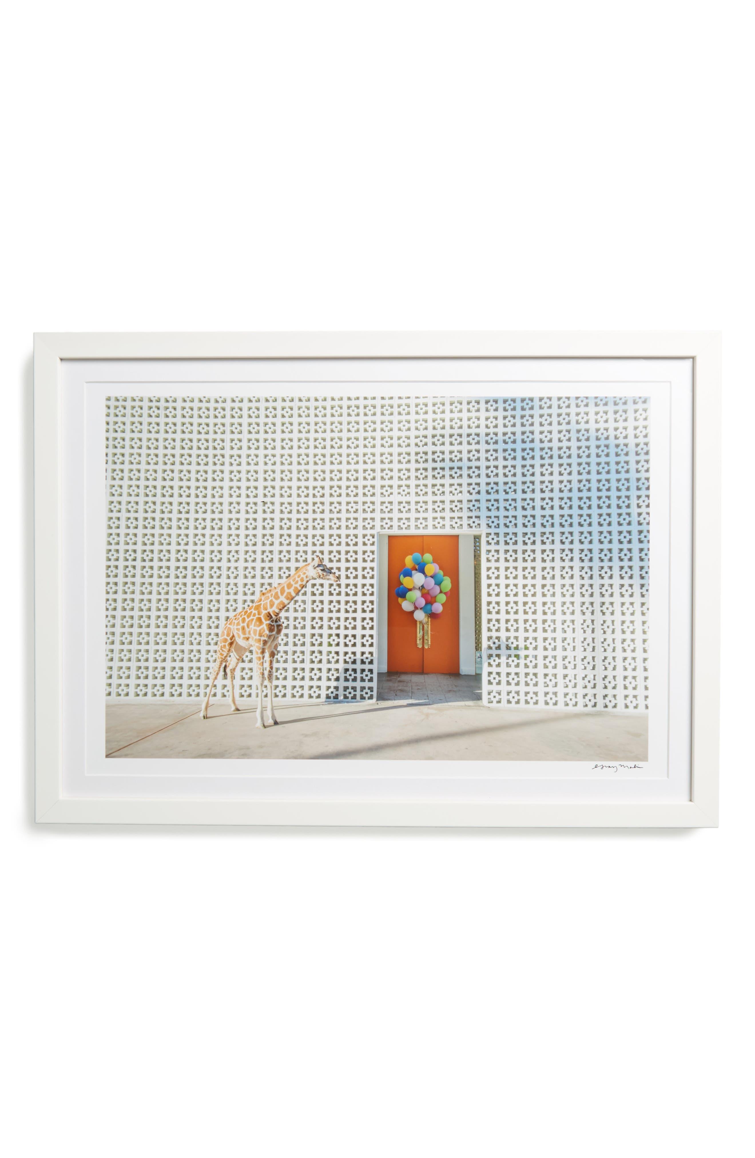 Welcome Parker Framed Art Print,                         Main,                         color, Beige