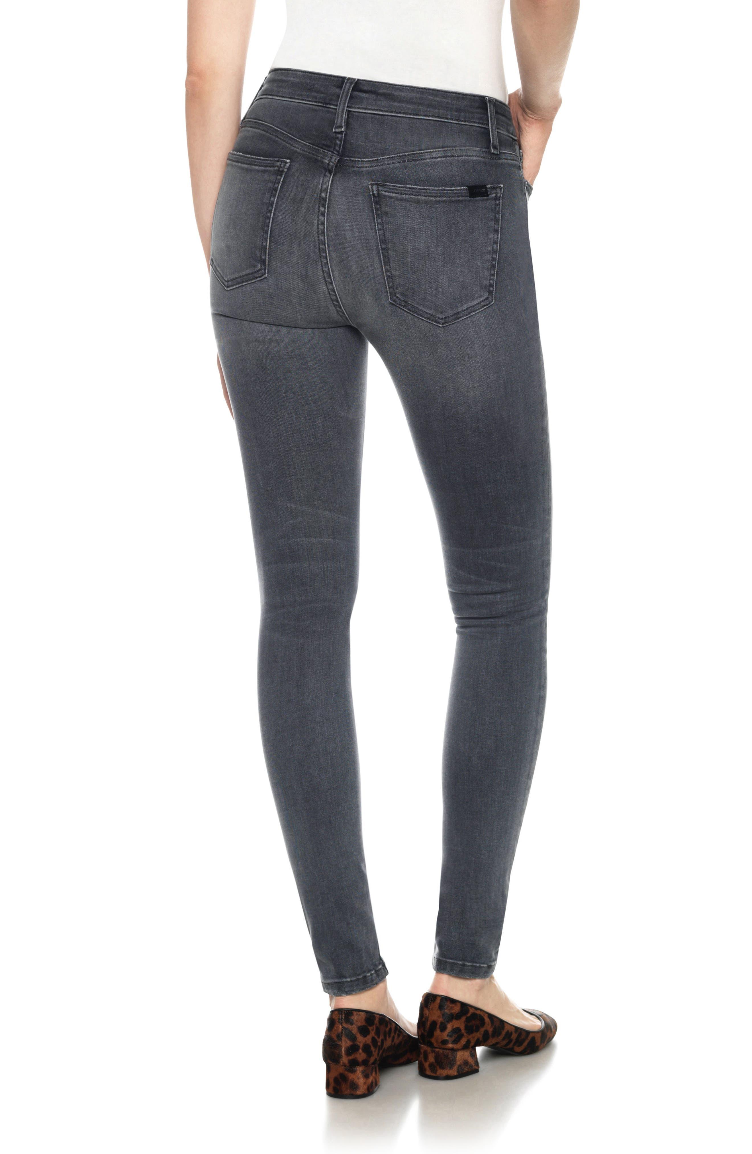 Alternate Image 2  - Joe's Flawless - Charlie High Waist Skinny Jeans (Callista)