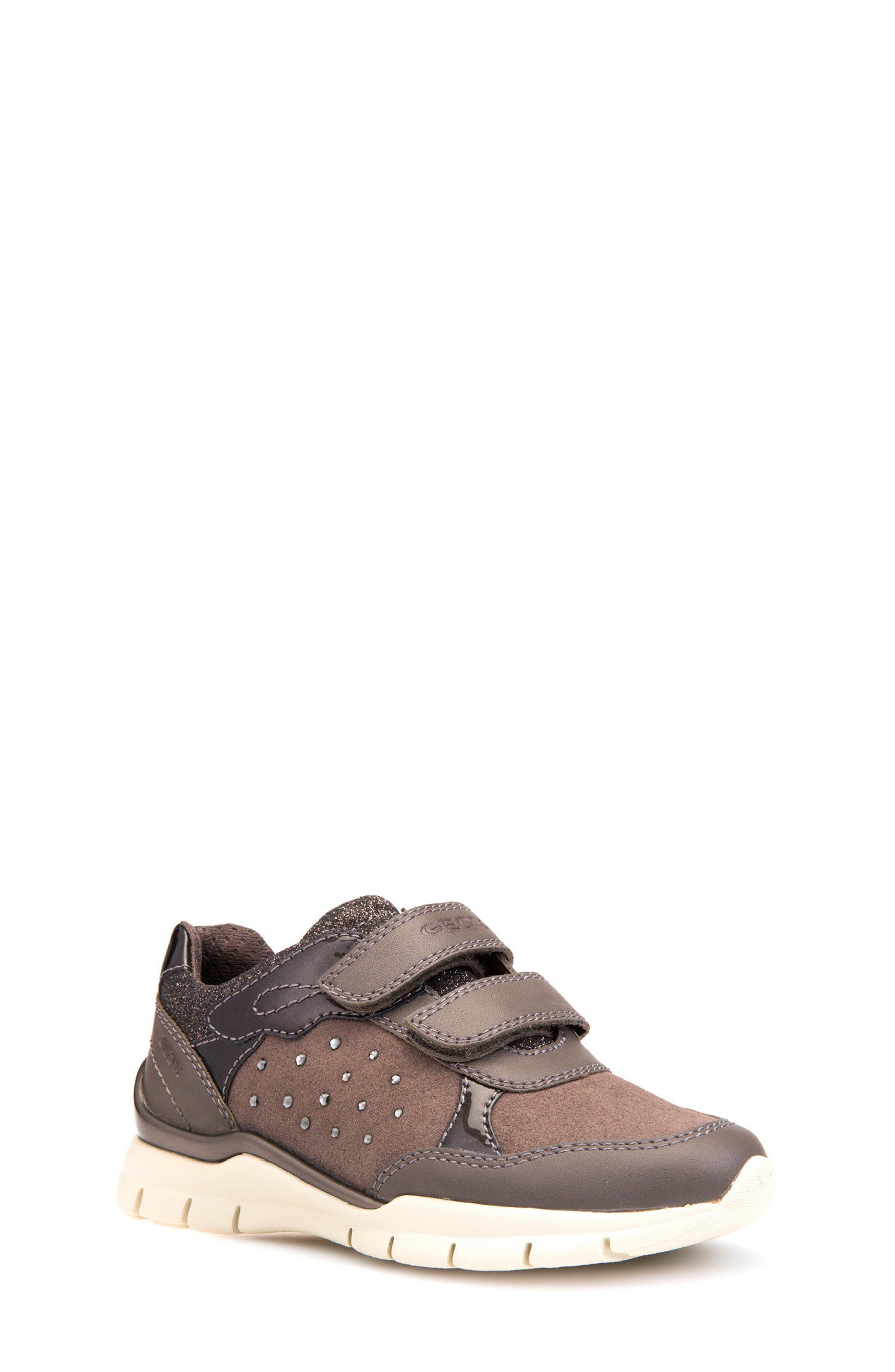 Alternate Image 1 Selected - Geox Sukie Sneaker (Toddler, Little Kid & Big Kid)