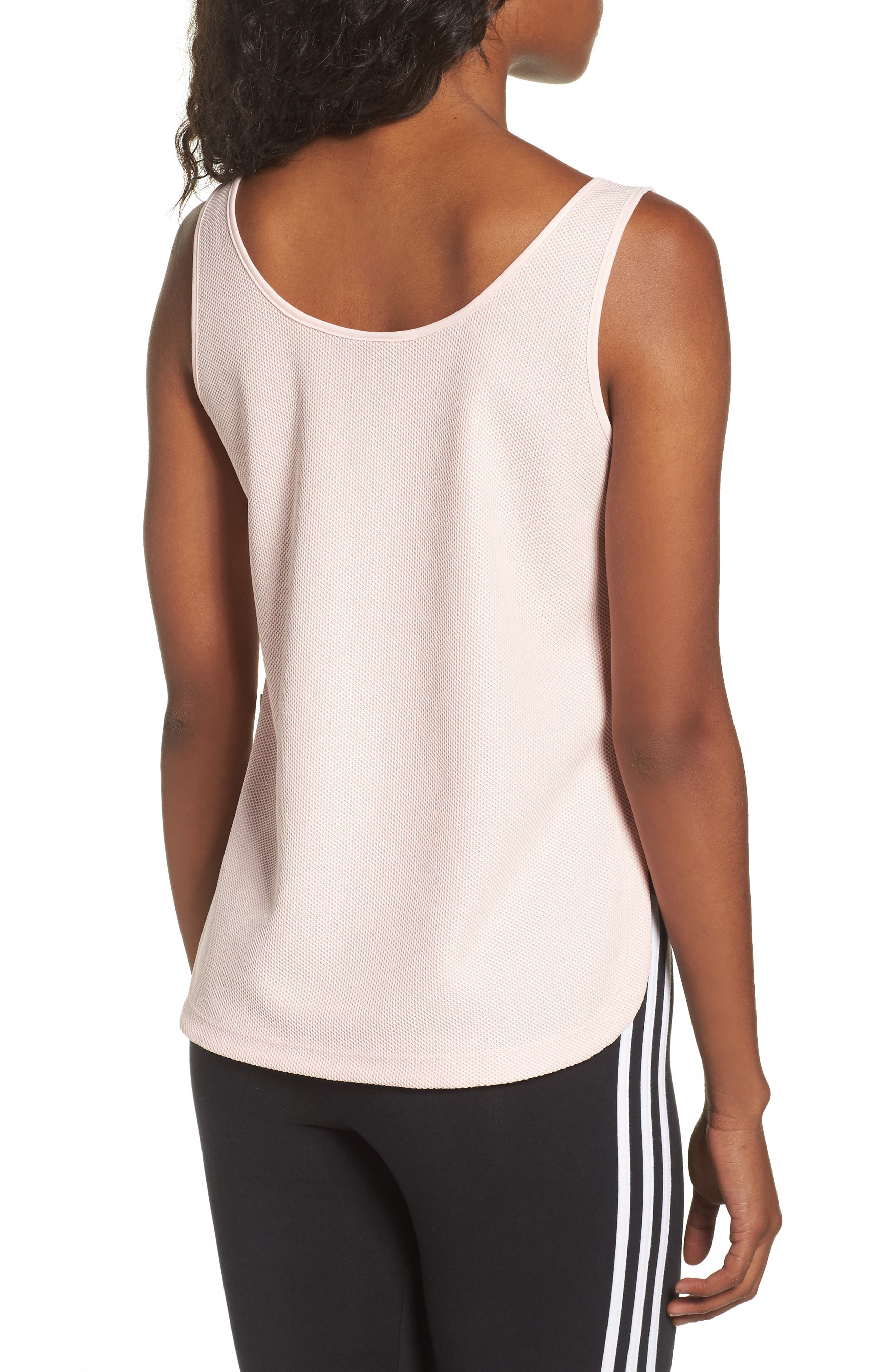 Originals Loose Crop Tank,                             Alternate thumbnail 2, color,                             Icey Pink