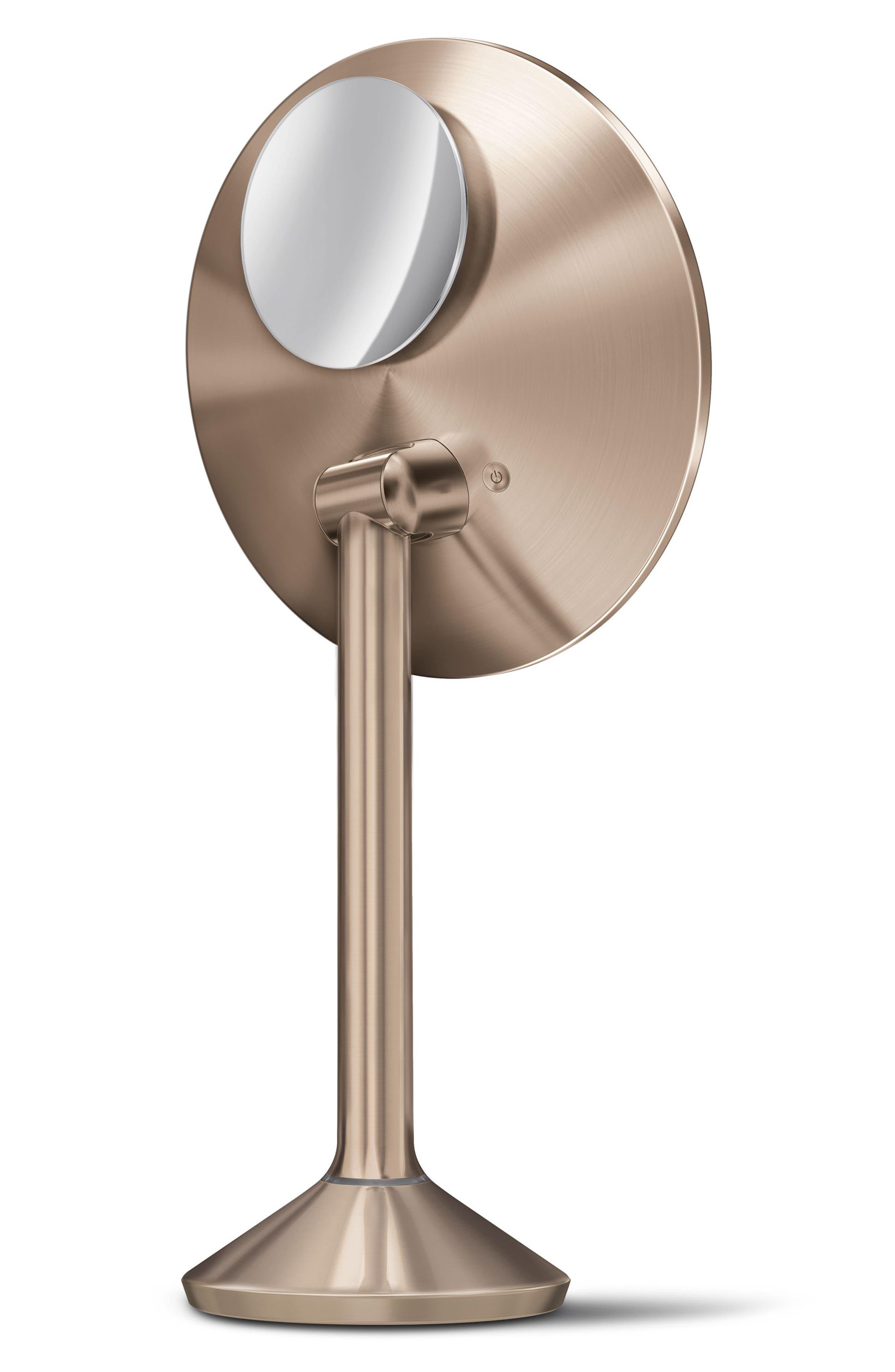 Alternate Image 2  - simplehuman Round Sensor Mirror Pro (8-Inch)