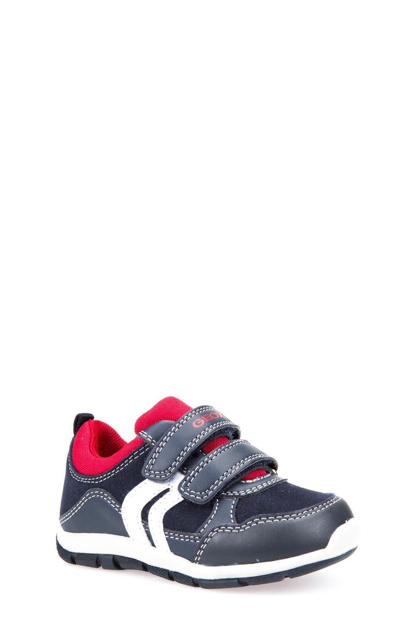 Geox 'Shaax 9' Sneaker (Walker & Toddler)