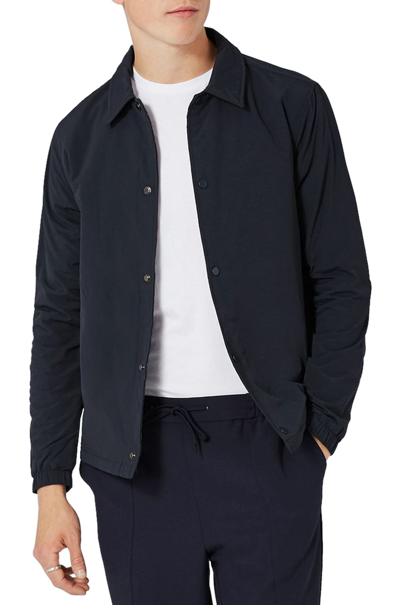 Alternate Image 1 Selected - Topman Coach Jacket