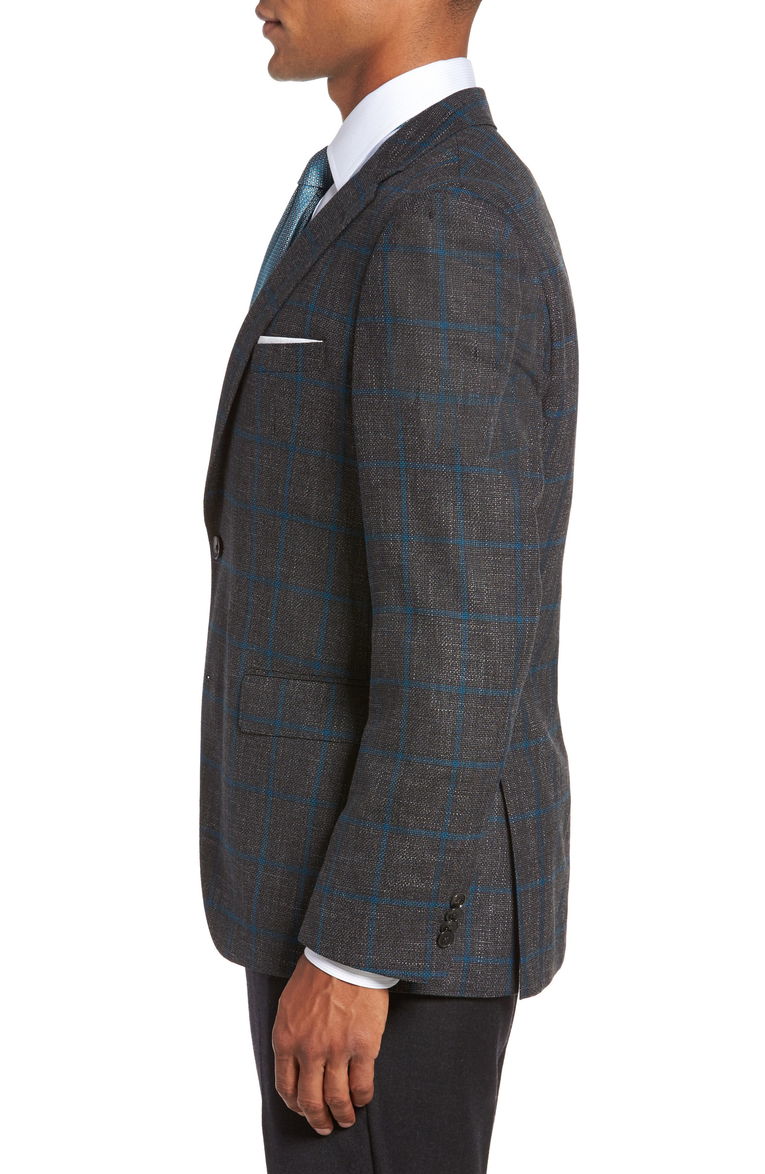 Alternate Image 3  - BOSS Jeen Classic Fit Wool Sport Coat