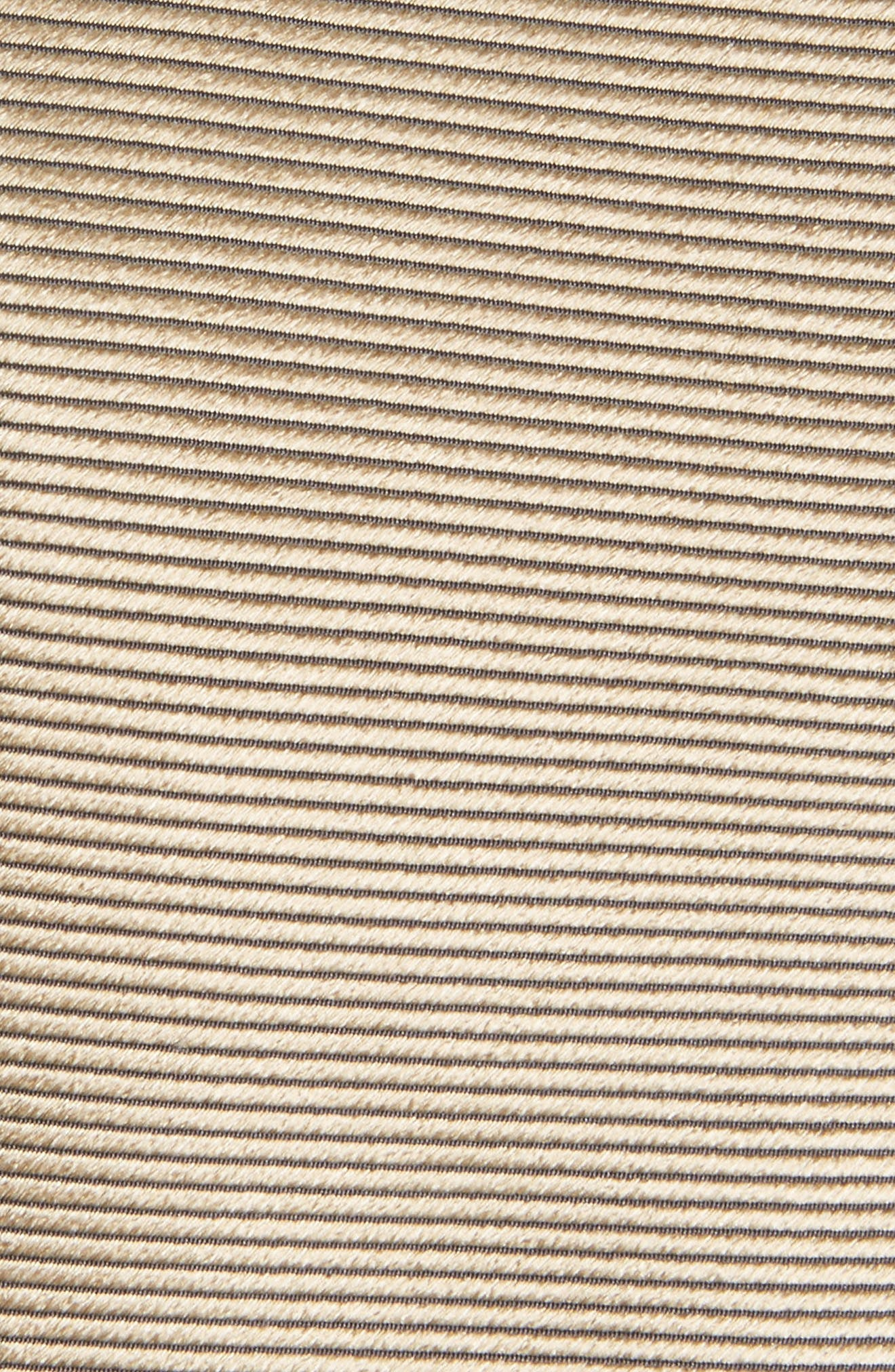 Solid Silk Skinny Tie,                             Alternate thumbnail 2, color,                             Medium Beige