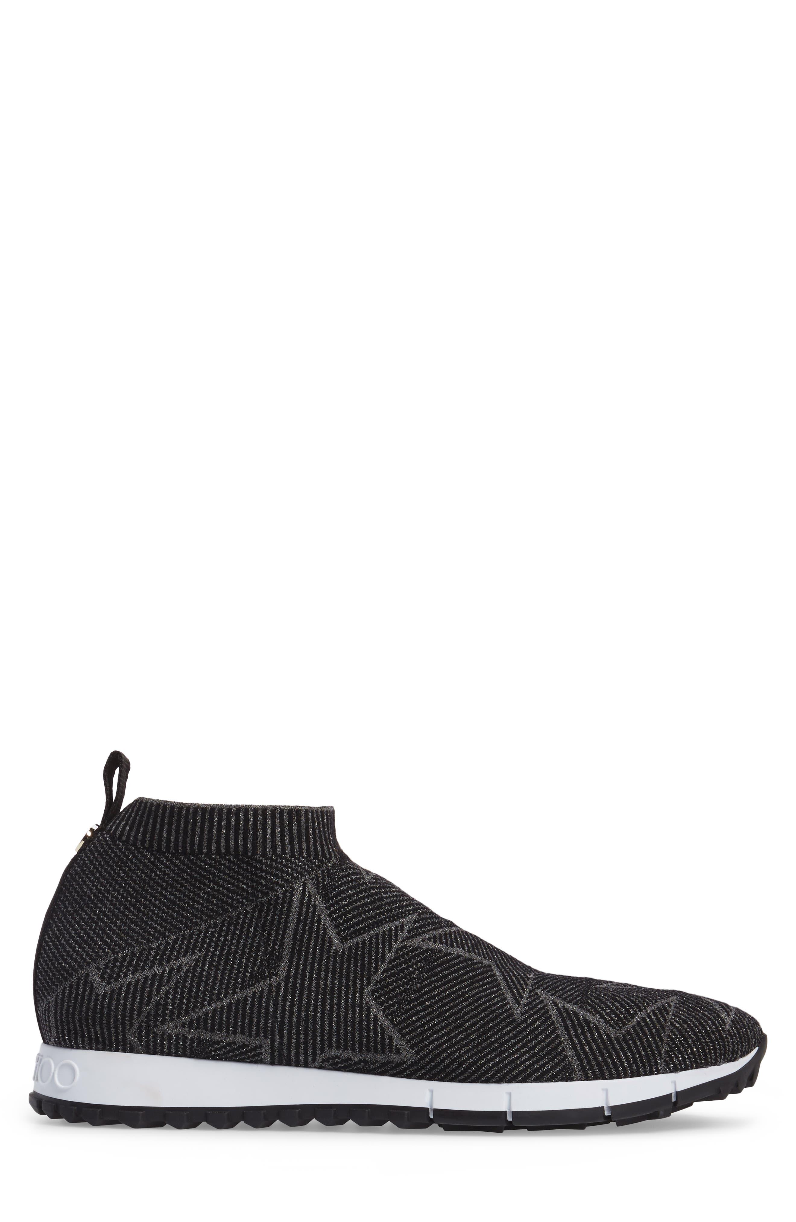 Alternate Image 3  - Jimmy Choo Norway High Top Sock Sneaker (Men)