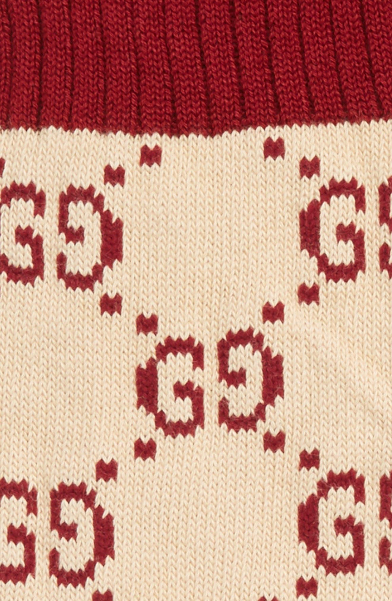 Alternate Image 2  - Gucci GG Socks
