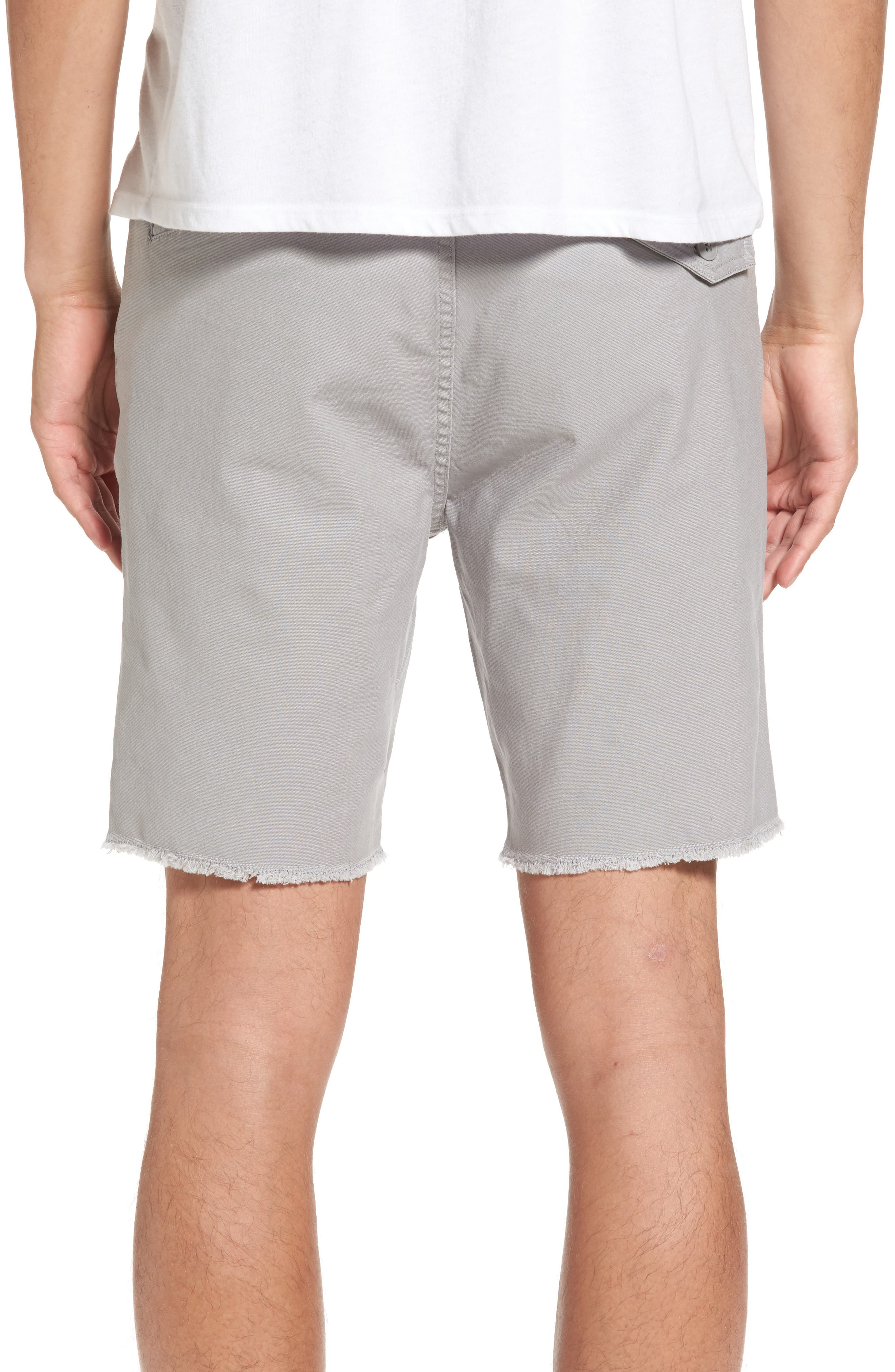 Stone Made Atwell Cutoff Shorts,                             Alternate thumbnail 2, color,                             Grey