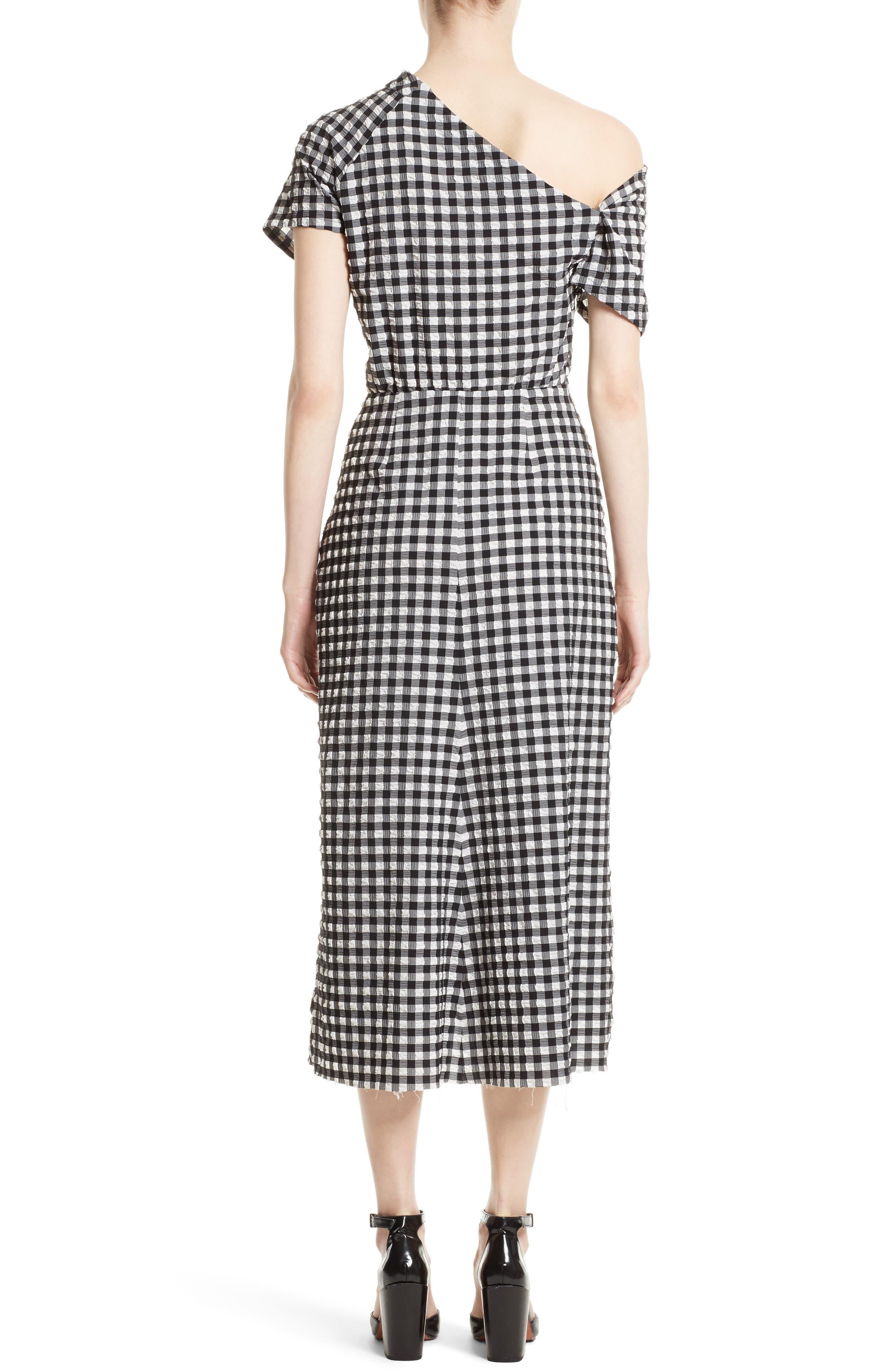 Alternate Image 2  - Rachel Comey Pout One-Shoulder Midi Dress
