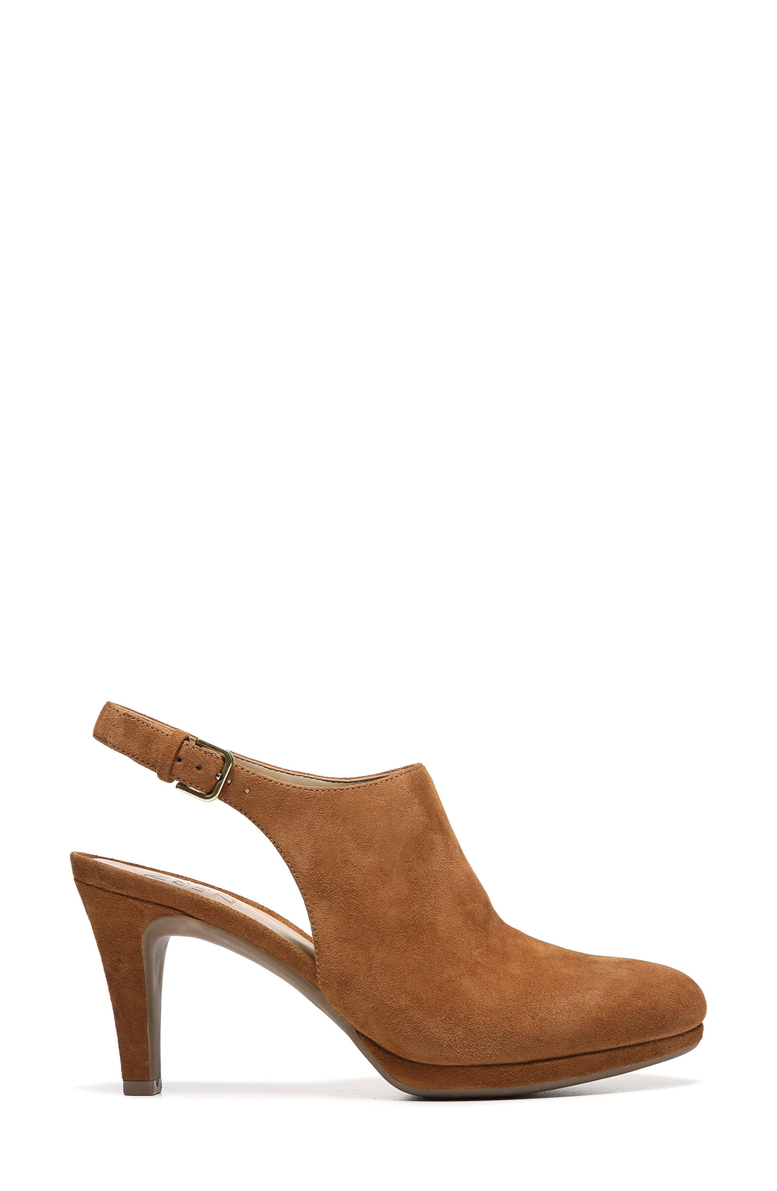 Margo Pump,                             Alternate thumbnail 3, color,                             Whiskey Suede