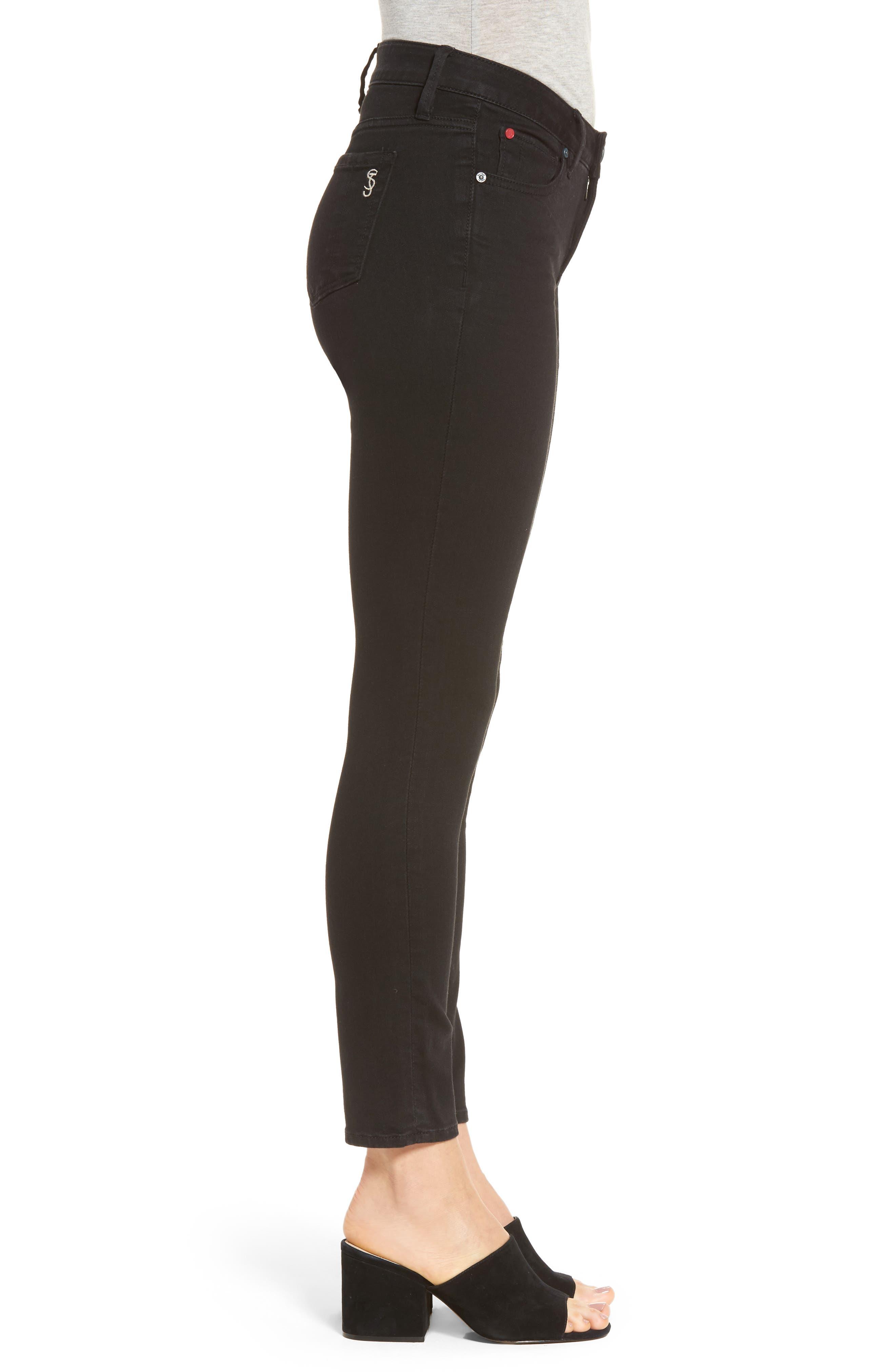 Slim Jeans,                             Alternate thumbnail 3, color,                             Black