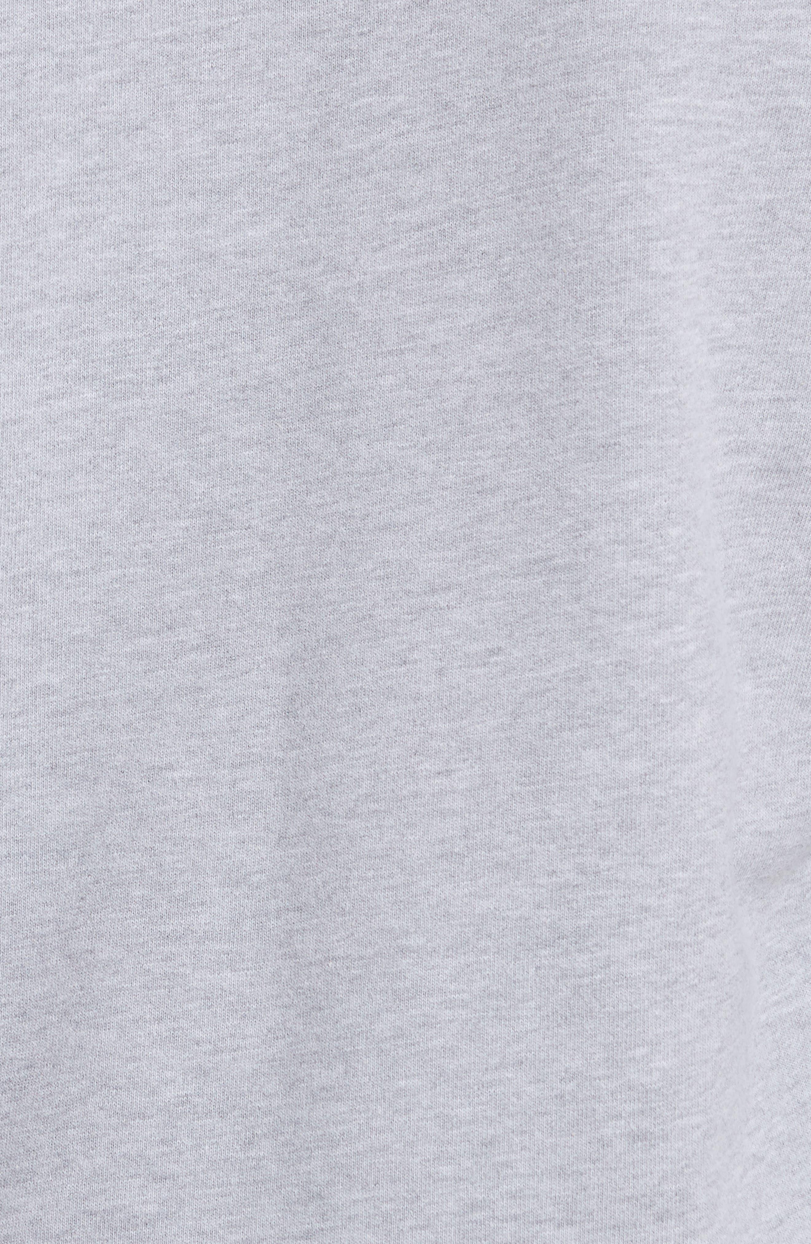 Jennings Embroidered Sweatshirt,                             Alternate thumbnail 5, color,                             Heather Grey