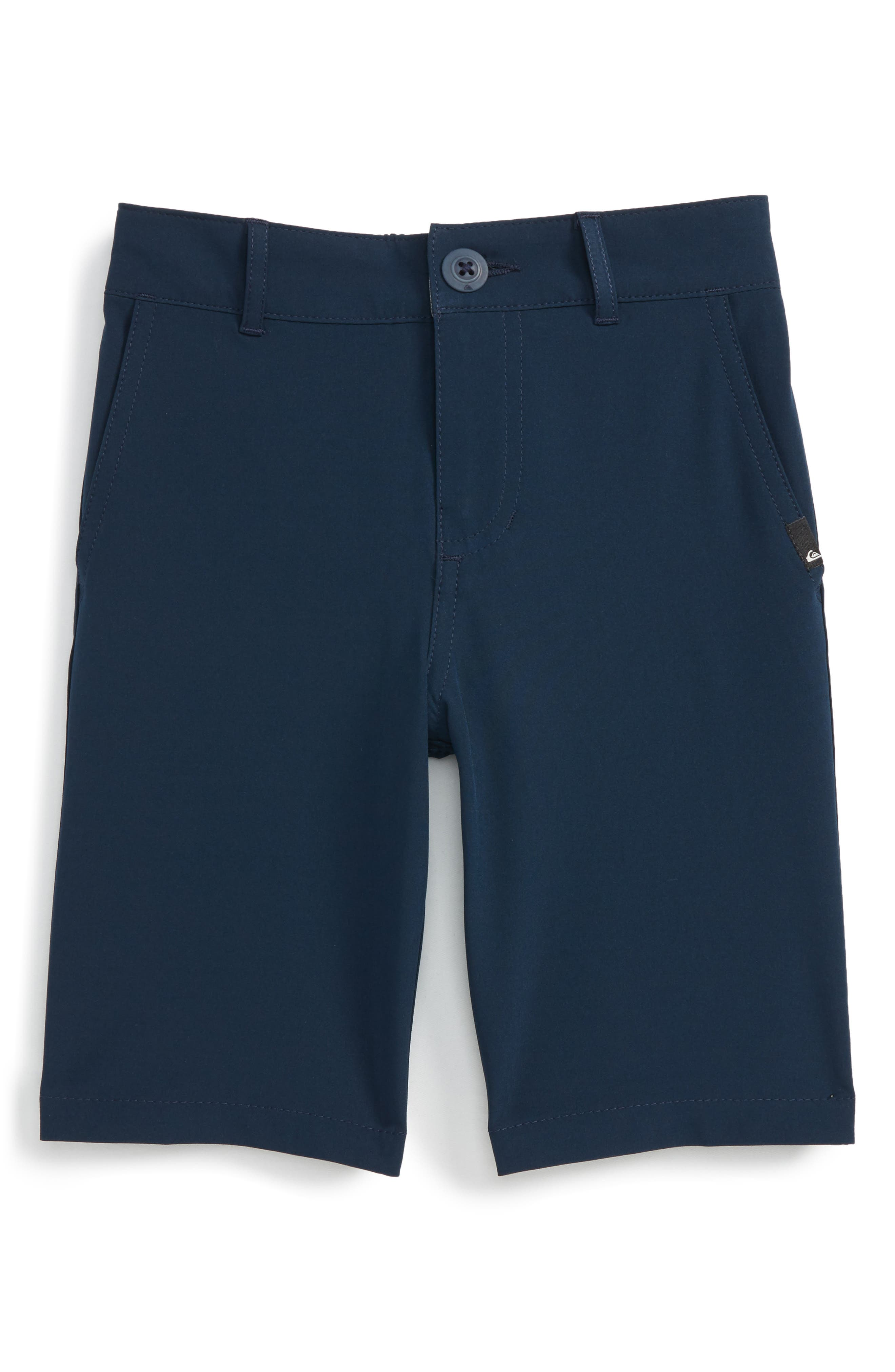 Amphibian Hybrid Shorts,                         Main,                         color, Navy Blazer