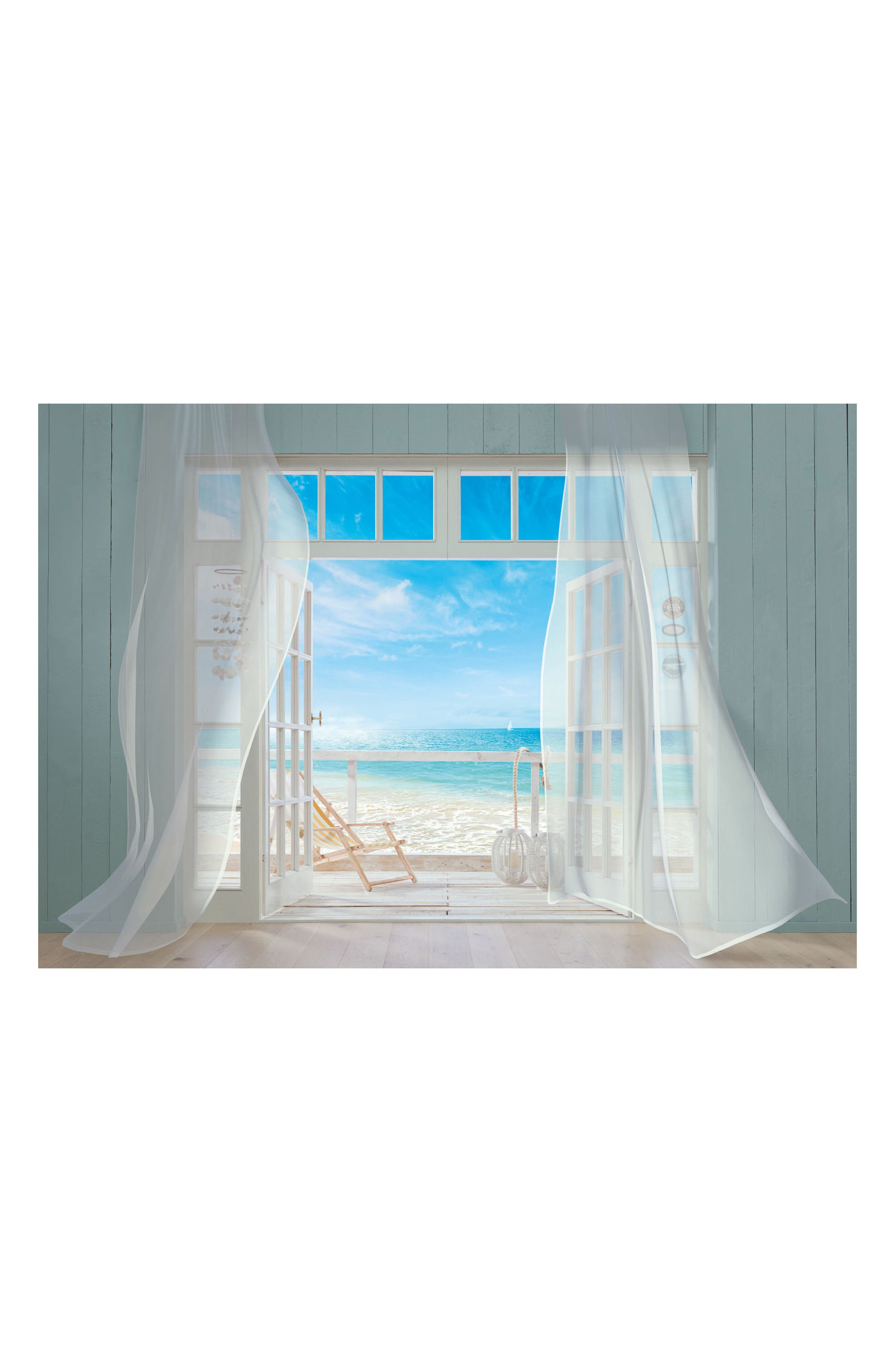 Main Image - Wallpops Malibu 8-Panel Wall Mural