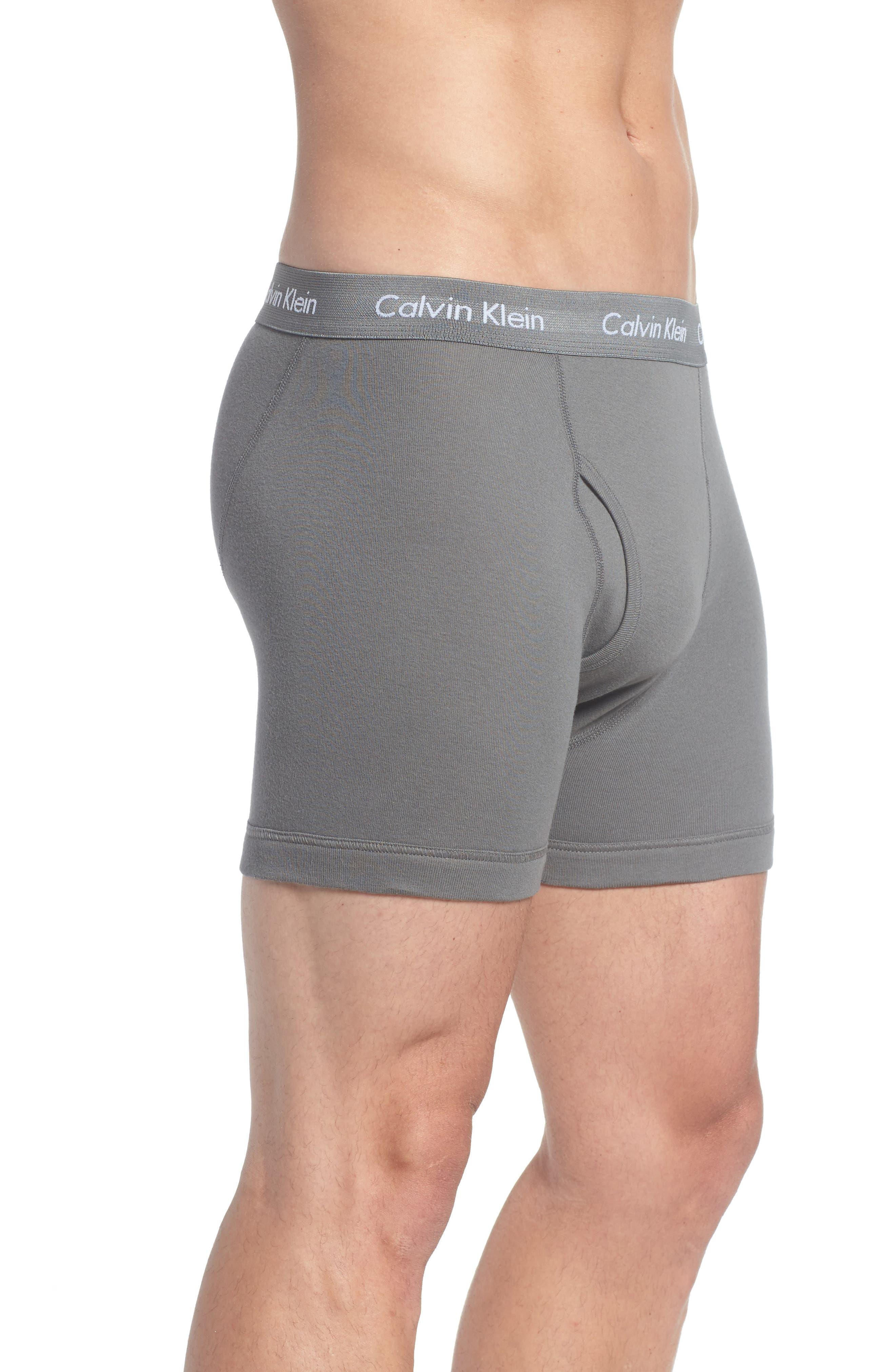 Alternate Image 4  - Calvin Klein 3-Pack Boxer Briefs