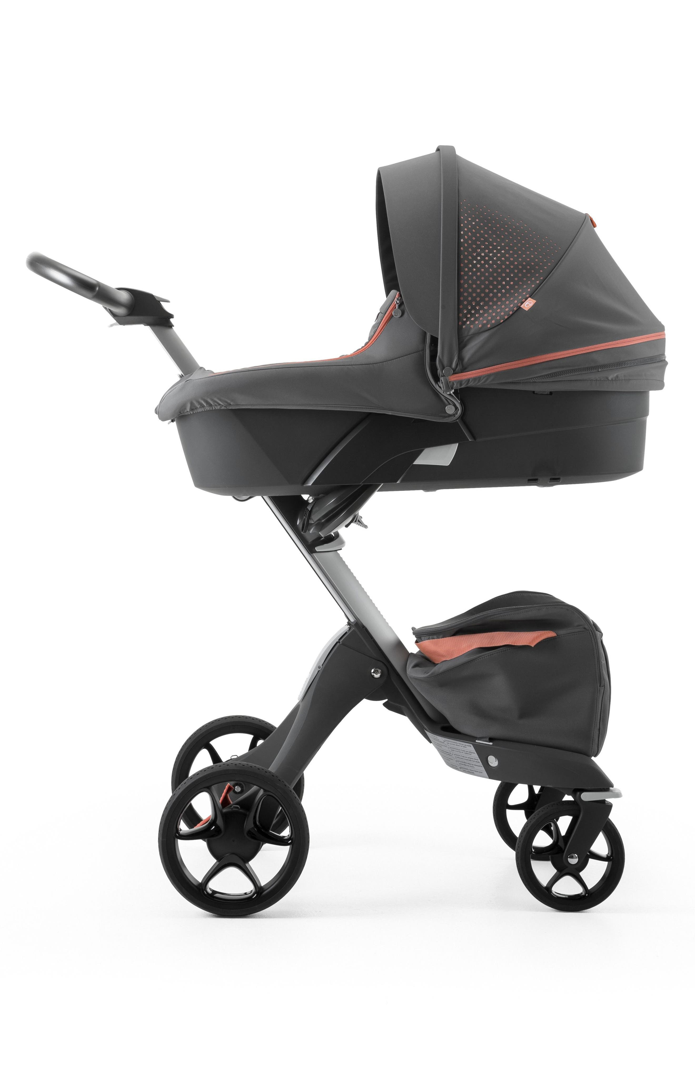Xplory<sup>®</sup> Athleisure Stroller Carry Cot,                             Alternate thumbnail 3, color,                             Coral