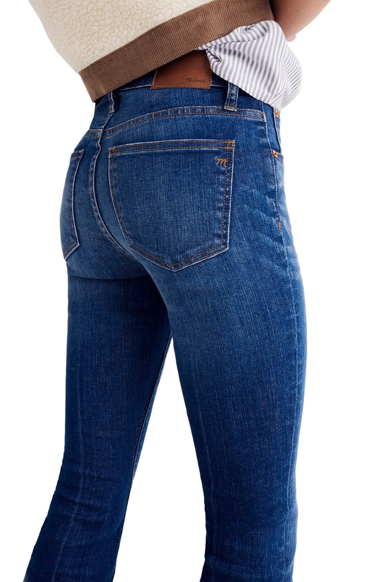 Cali Demi Boot Jeans,                             Alternate thumbnail 2, color,                             Wyoming Wash