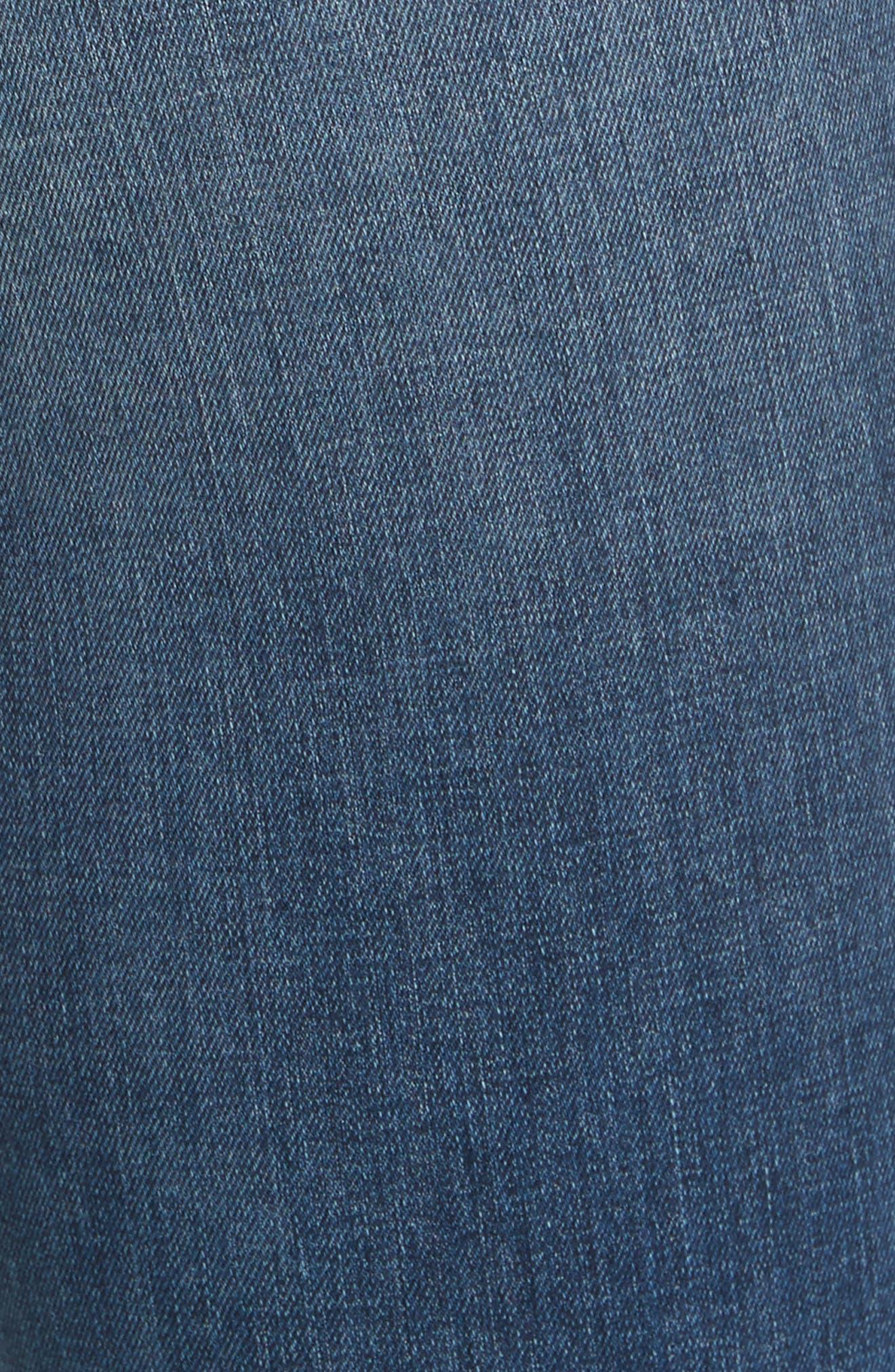 Alternate Image 6  - Rebecca Taylor Clemence Skinny Jeans (Verite)