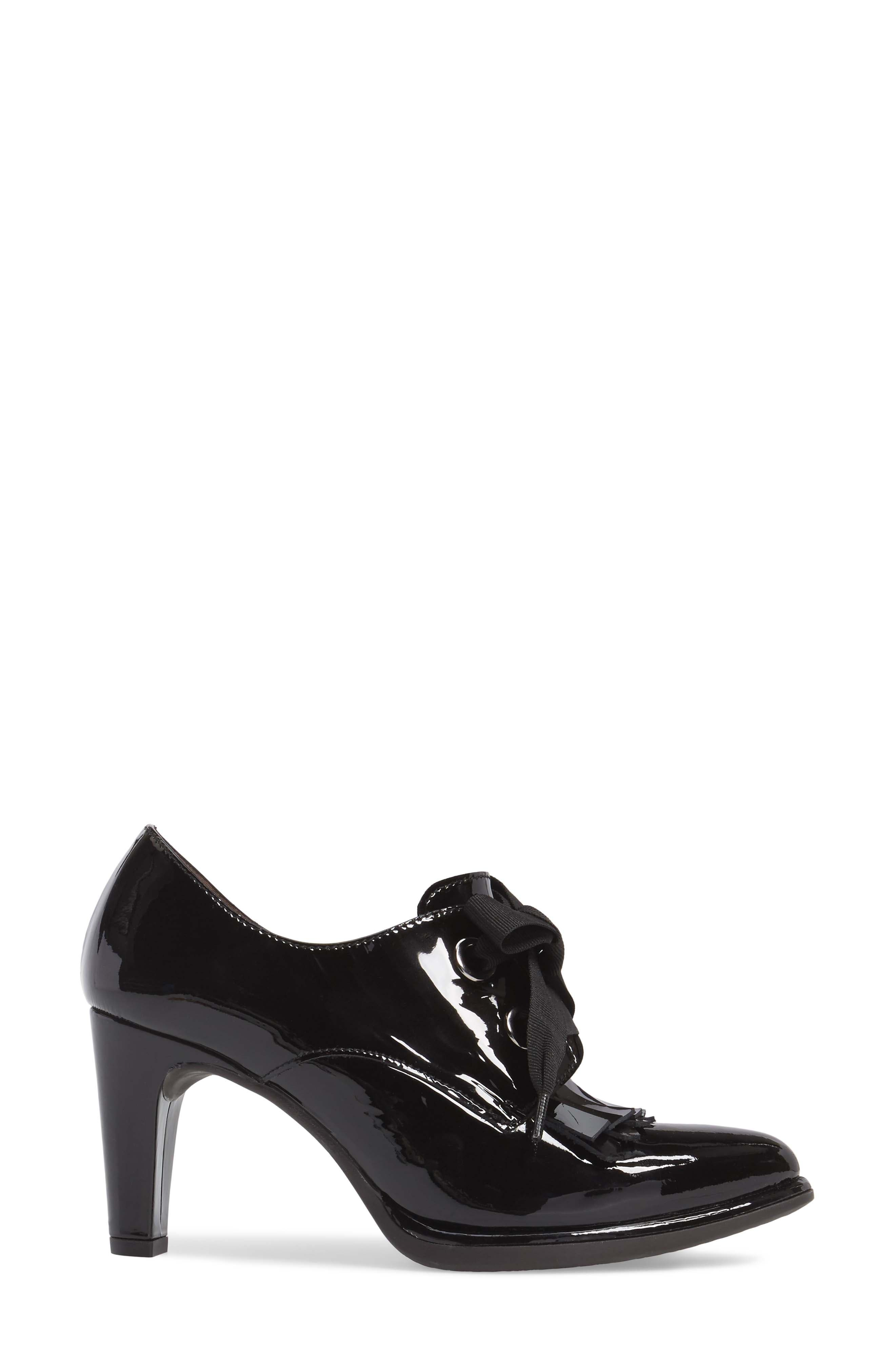 Alternate Image 3  - Wonders Lace-Up Loafer Pump (Women)