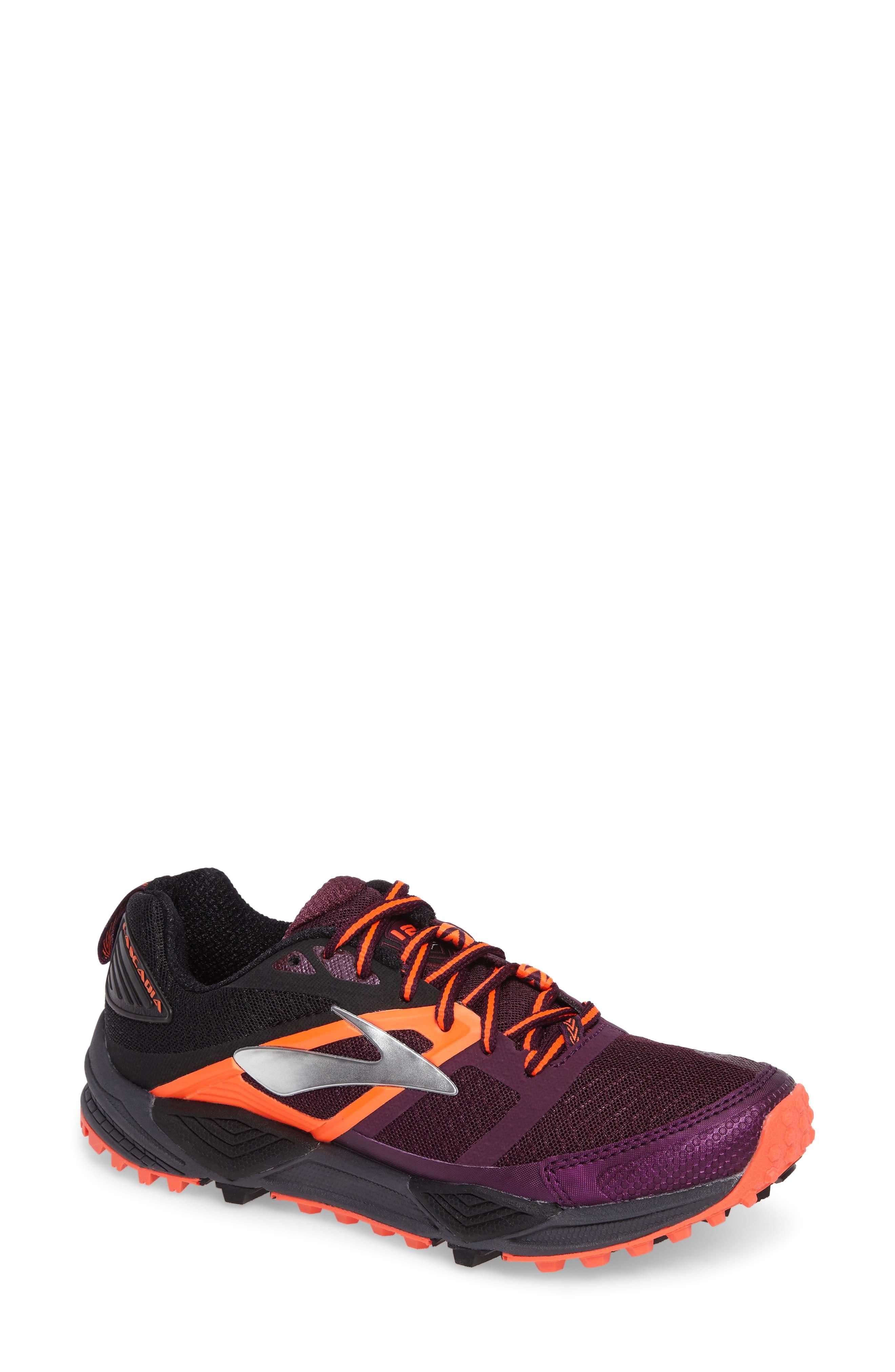 Alternate Image 1 Selected - Brooks Cascadia 12 Trail Running Shoe (Women)