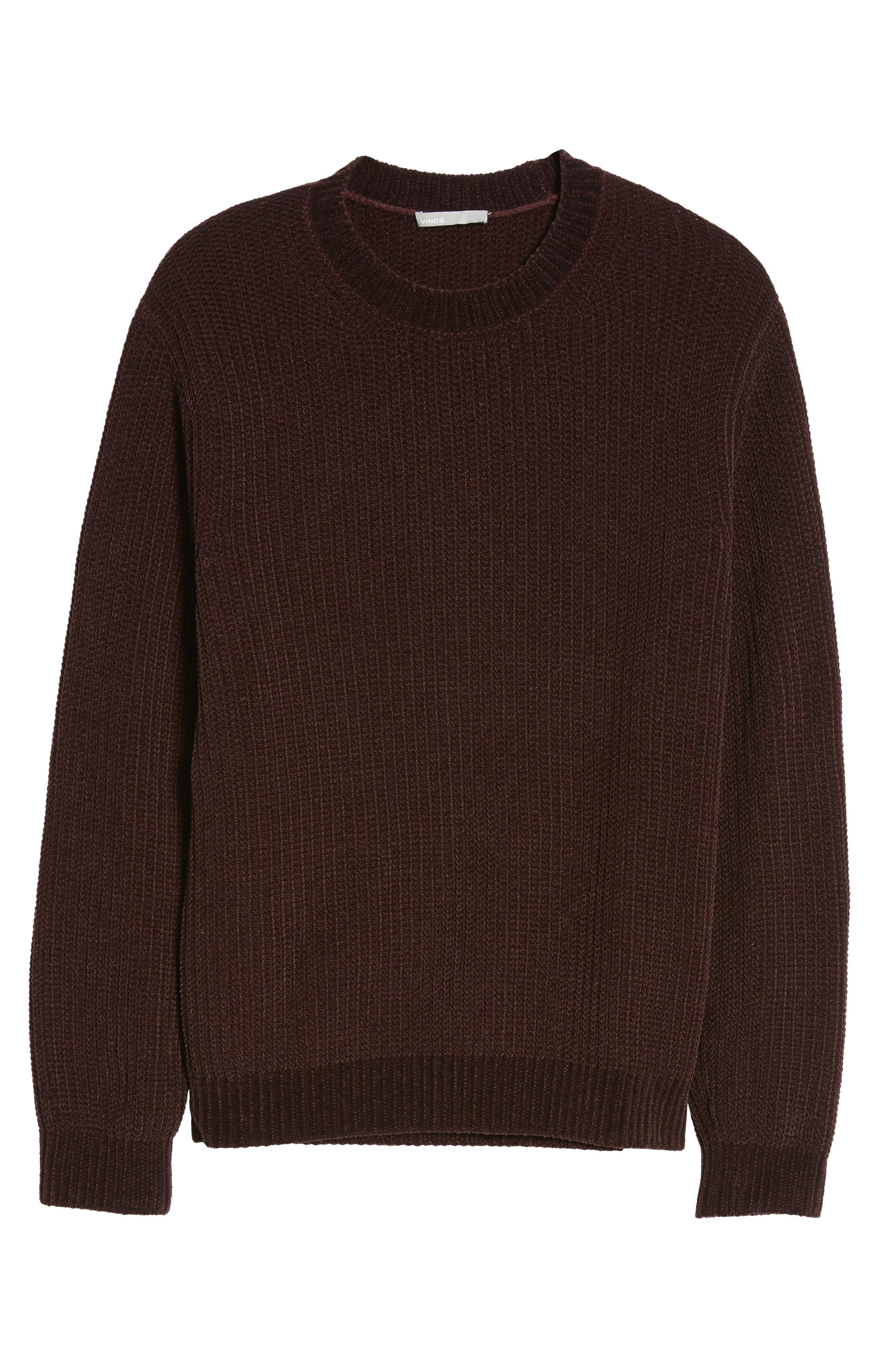 Alternate Image 5  - Vince Ribbed Crewneck Sweater