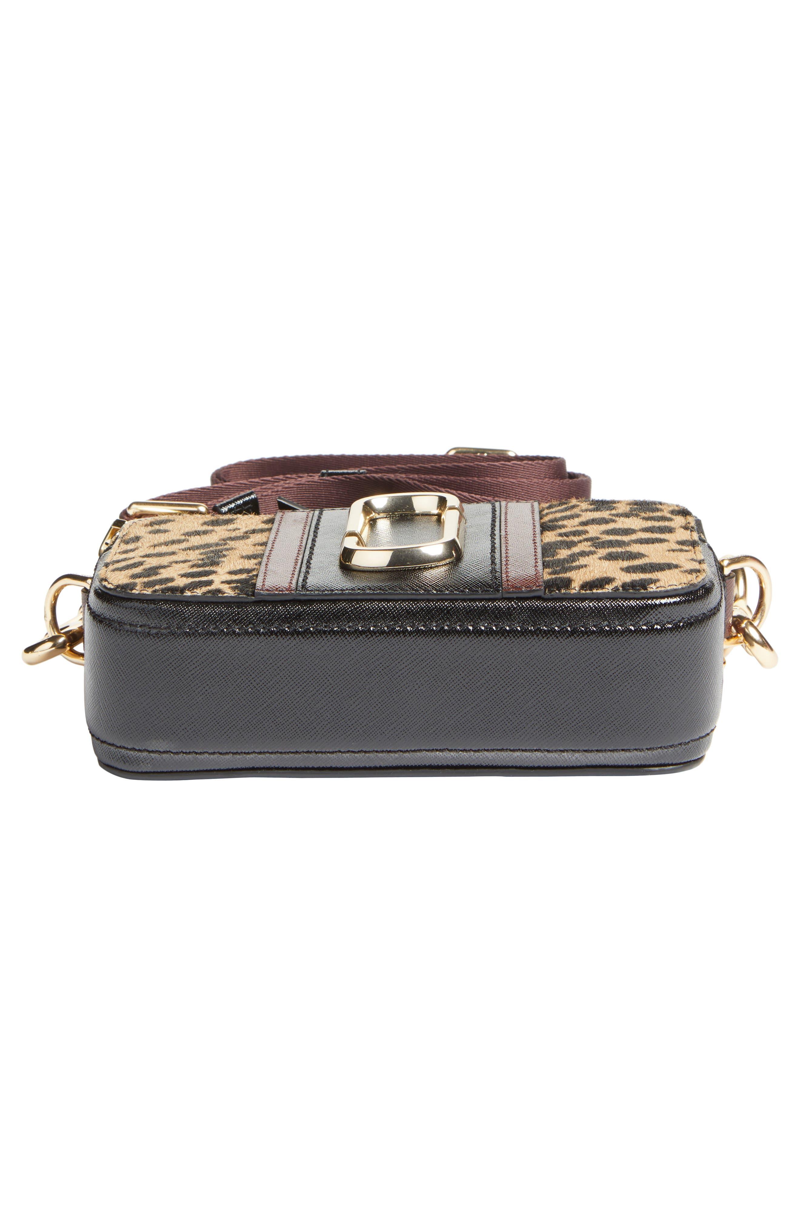 Alternate Image 5  - MARC JACOBS Snapshot Leopard Crossbody Bag