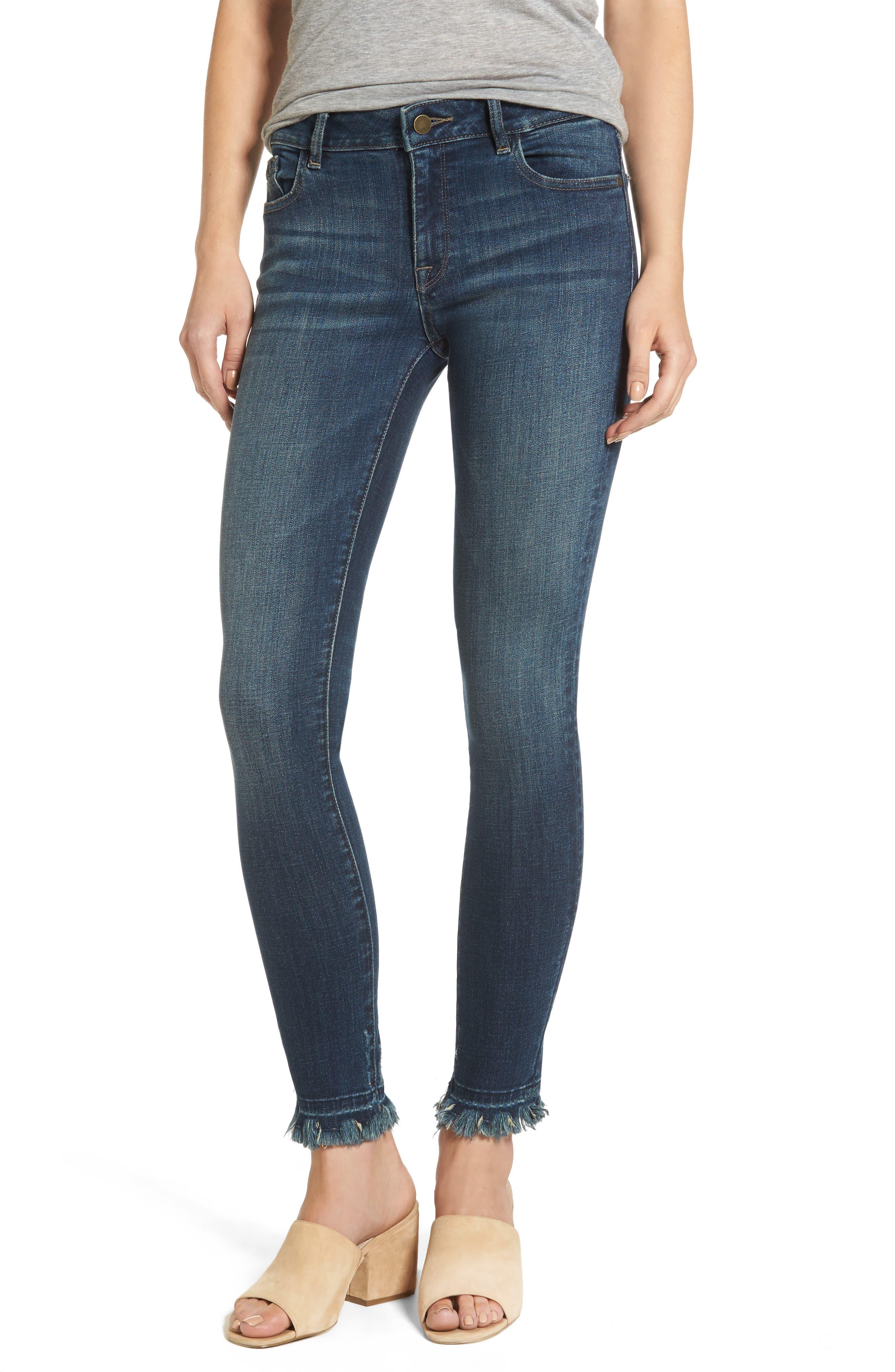 Alternate Image 1 Selected - DL1961 Margaux Instasculpt Ankle Skinny Jeans (Harlow)