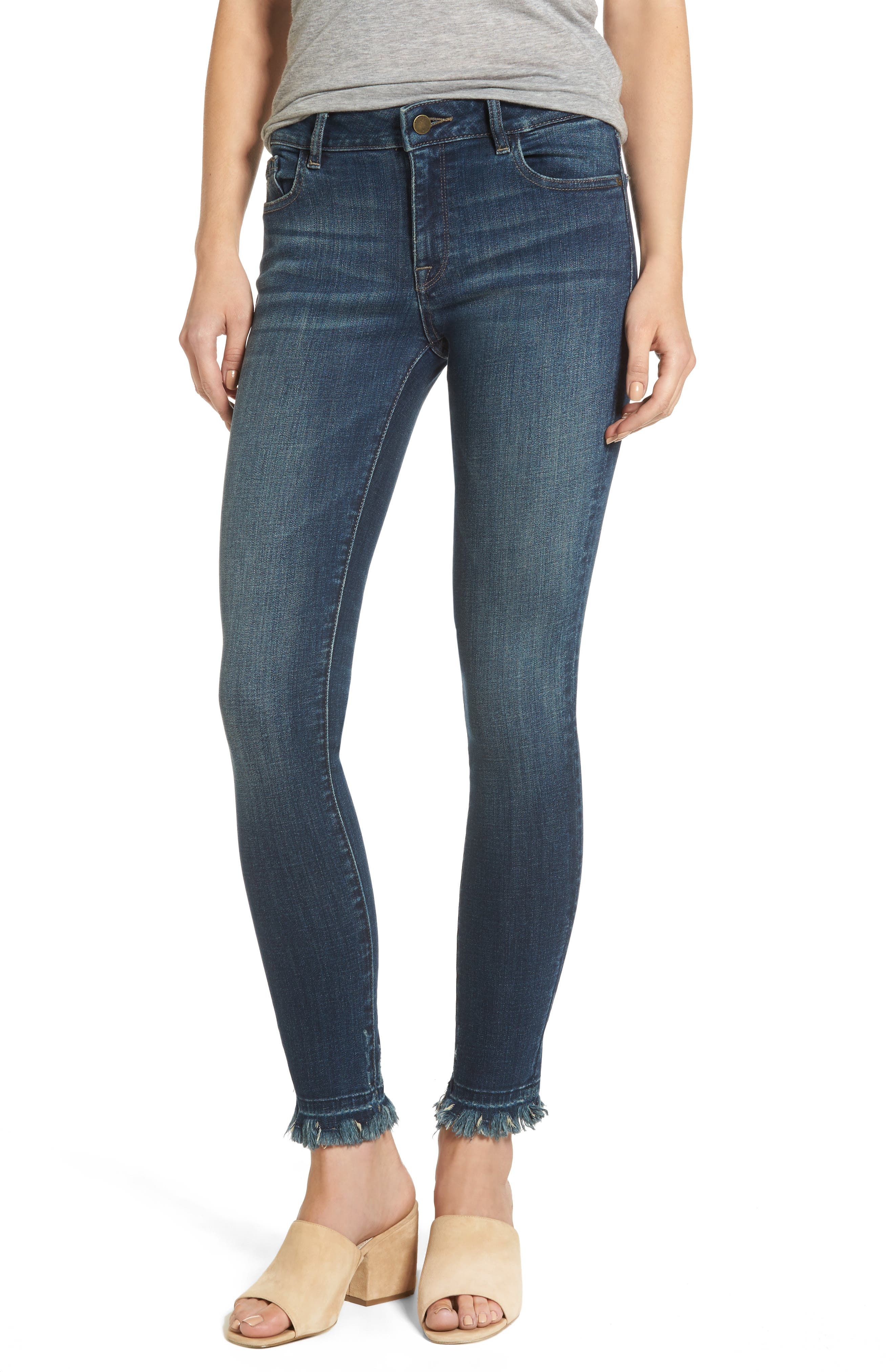Main Image - DL1961 Margaux Instasculpt Ankle Skinny Jeans (Harlow)