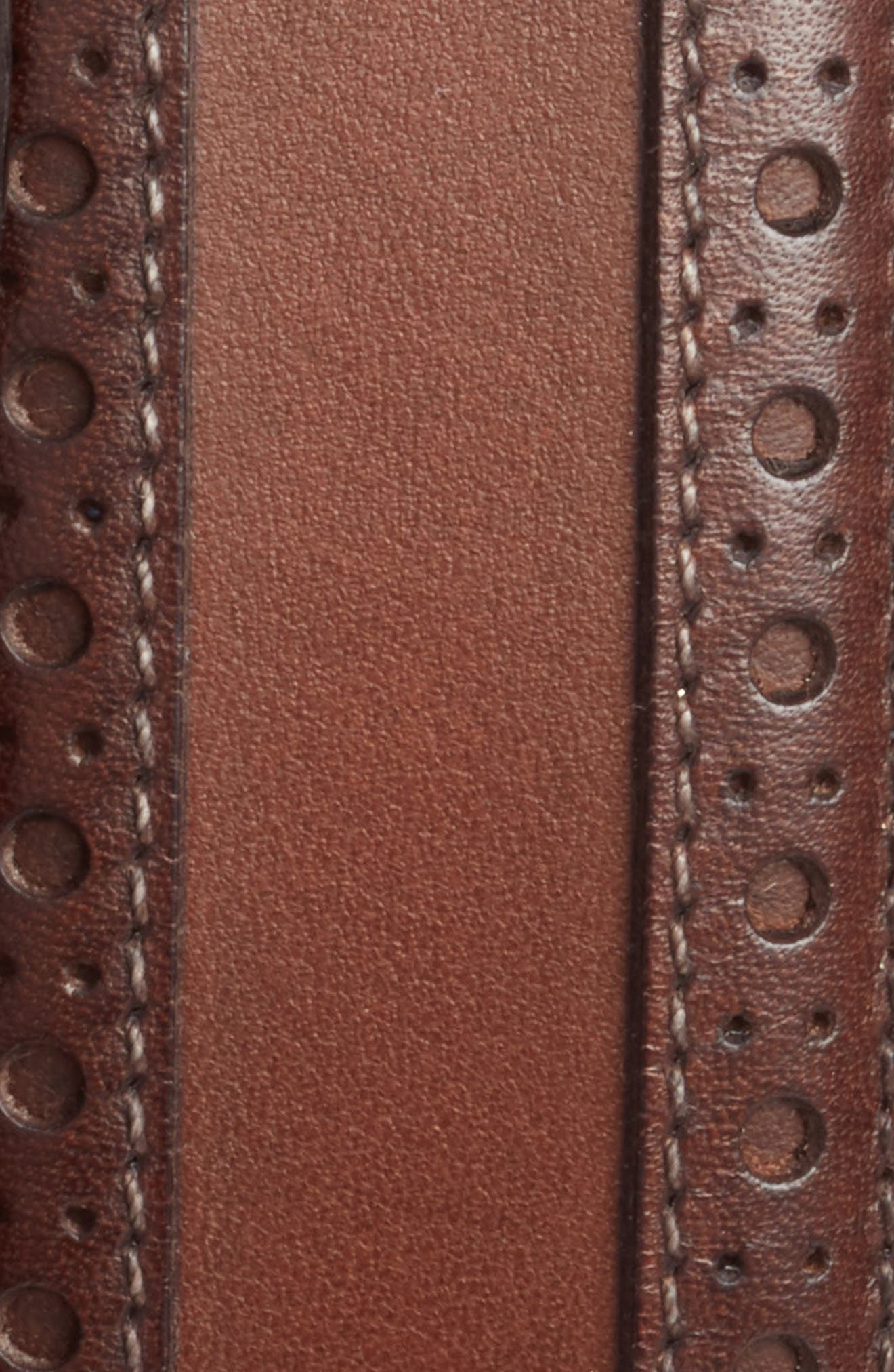 Alternate Image 2  - Mezlan Leather Belt