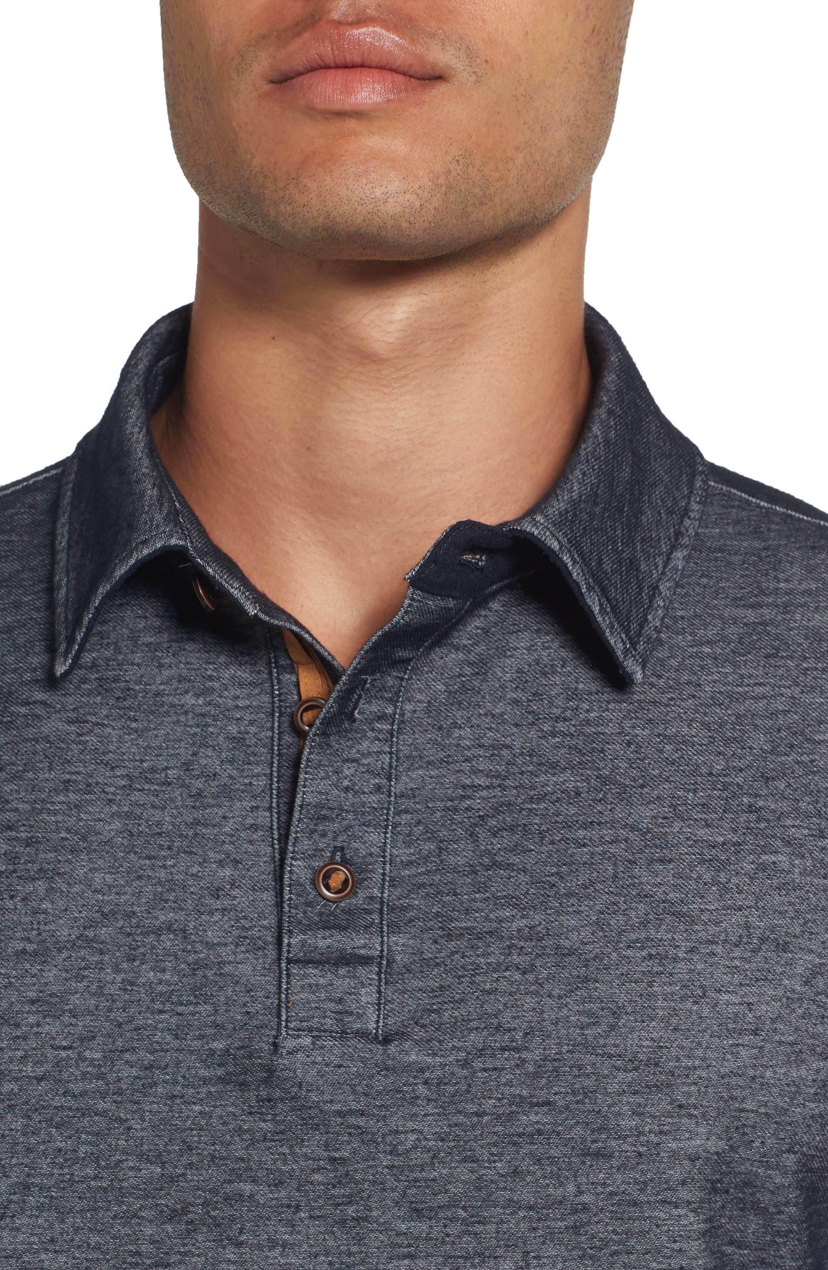Alternate Image 4  - Nifty Genius Nicolas Long Sleeve Polo