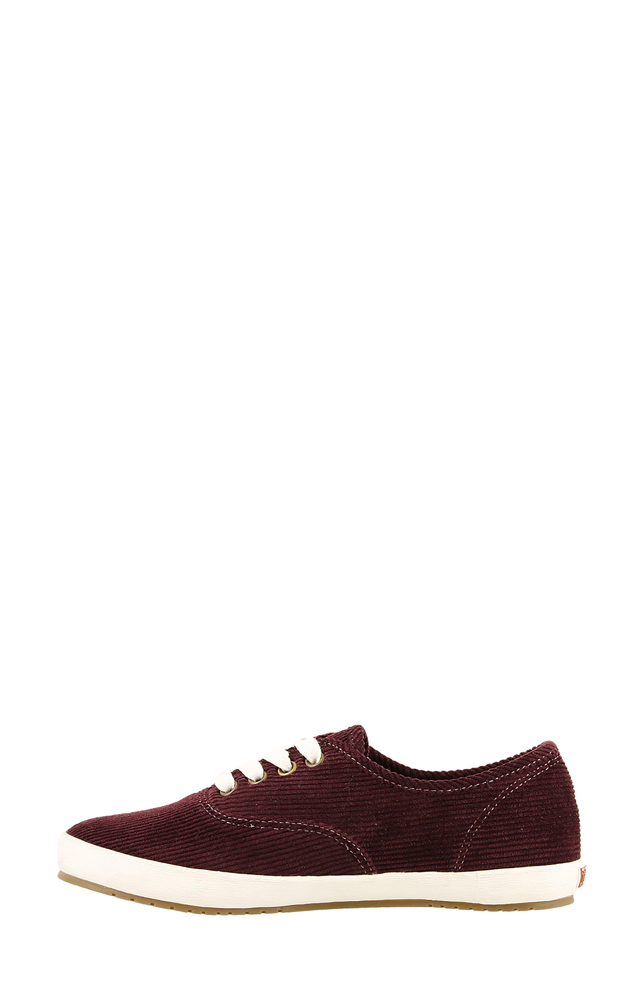 Guest Star Sneaker,                             Alternate thumbnail 4, color,                             Bordeaux Cord Fabric